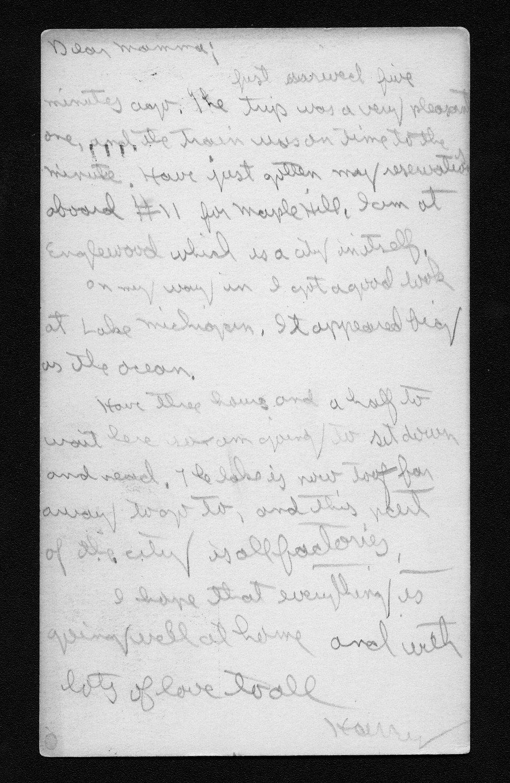 Harry Fine correspondence - 6