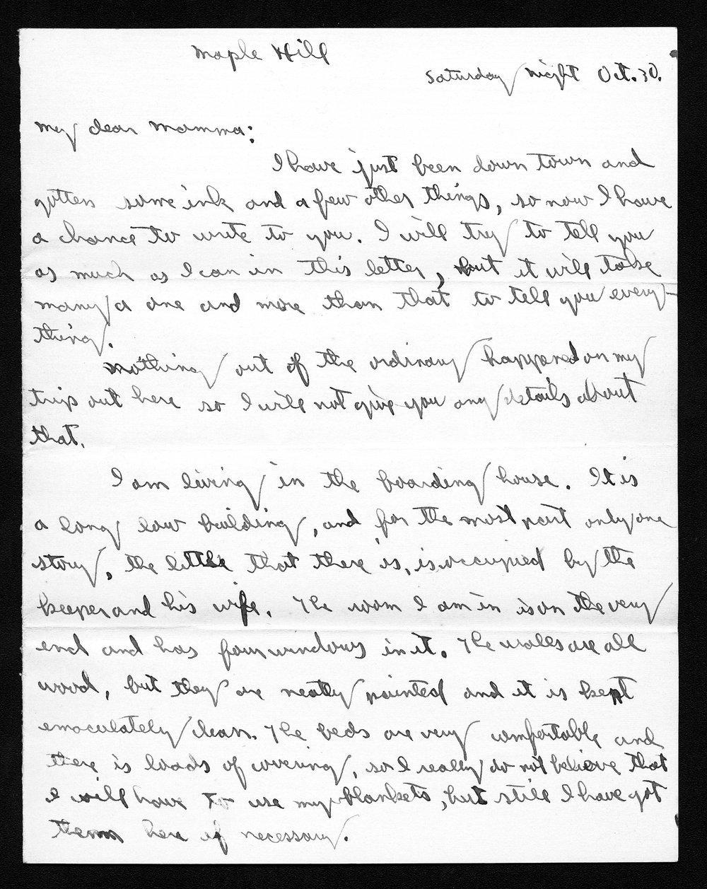 Harry Fine correspondence - 9