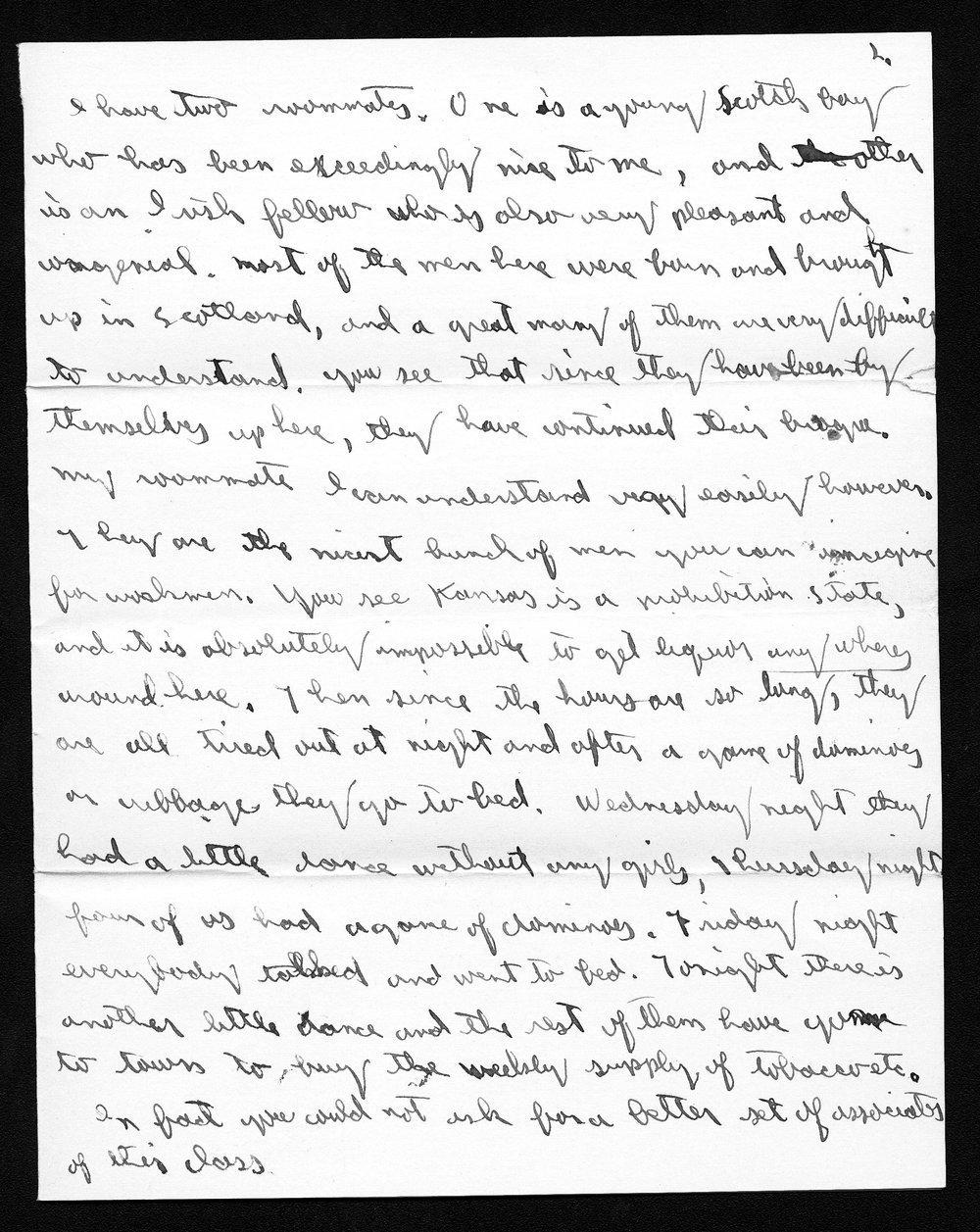 Harry Fine correspondence - 11