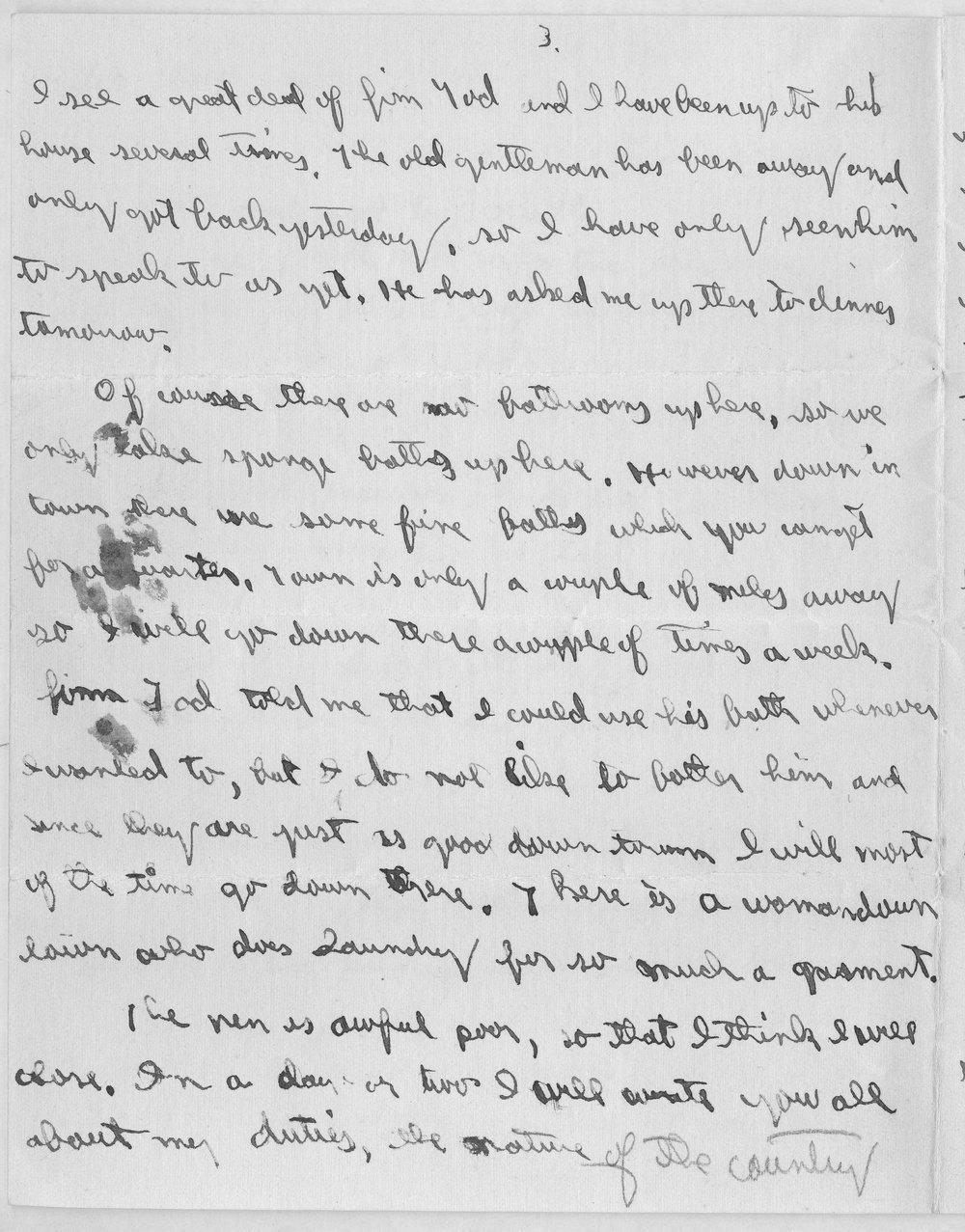 Harry Fine correspondence - 10