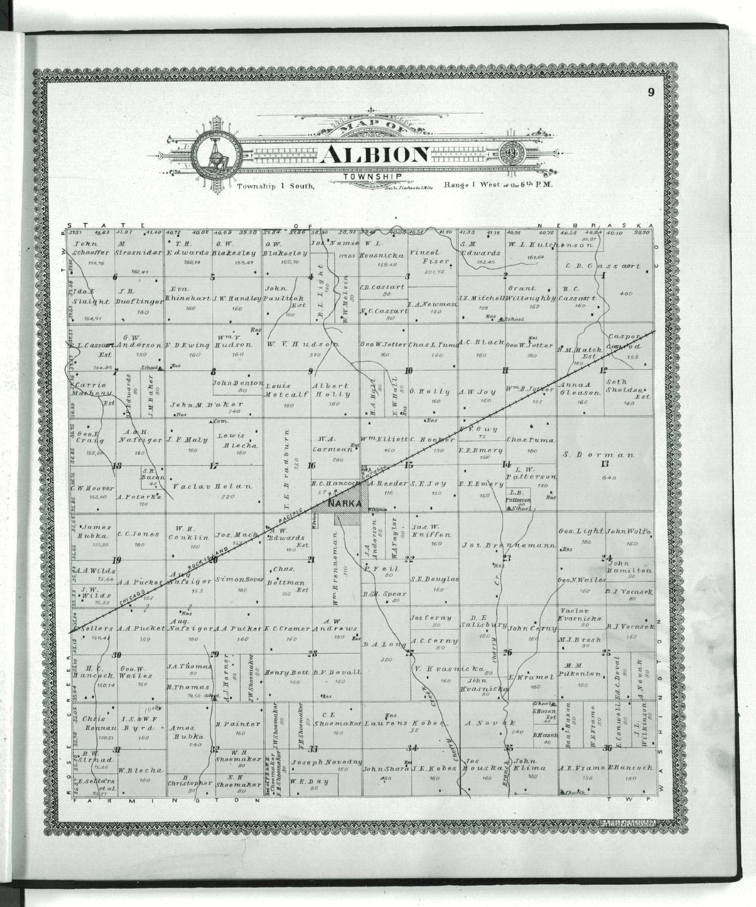 Standard atlas of Republic County, Kansas - 9