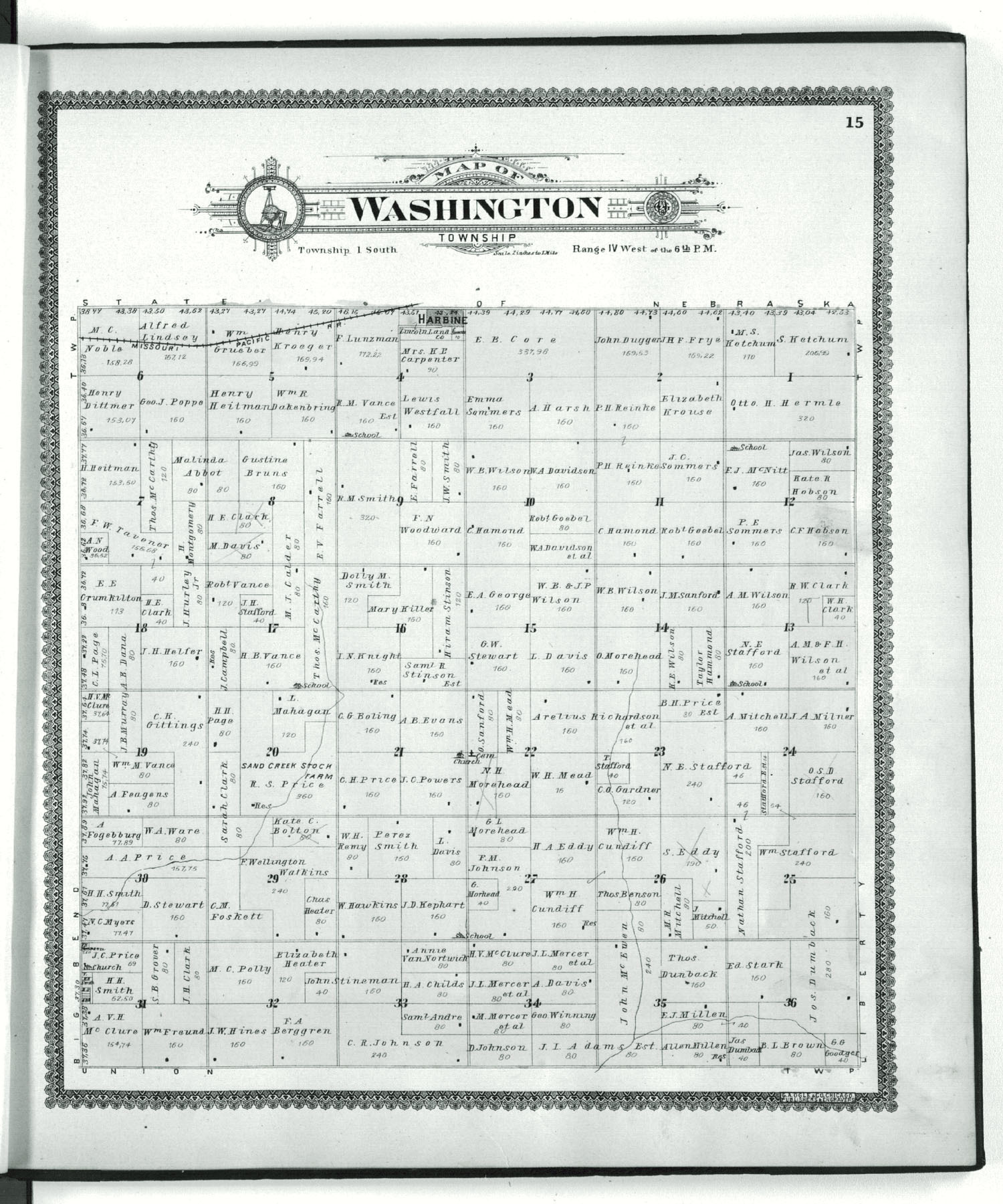 Standard atlas of Republic County, Kansas - 15