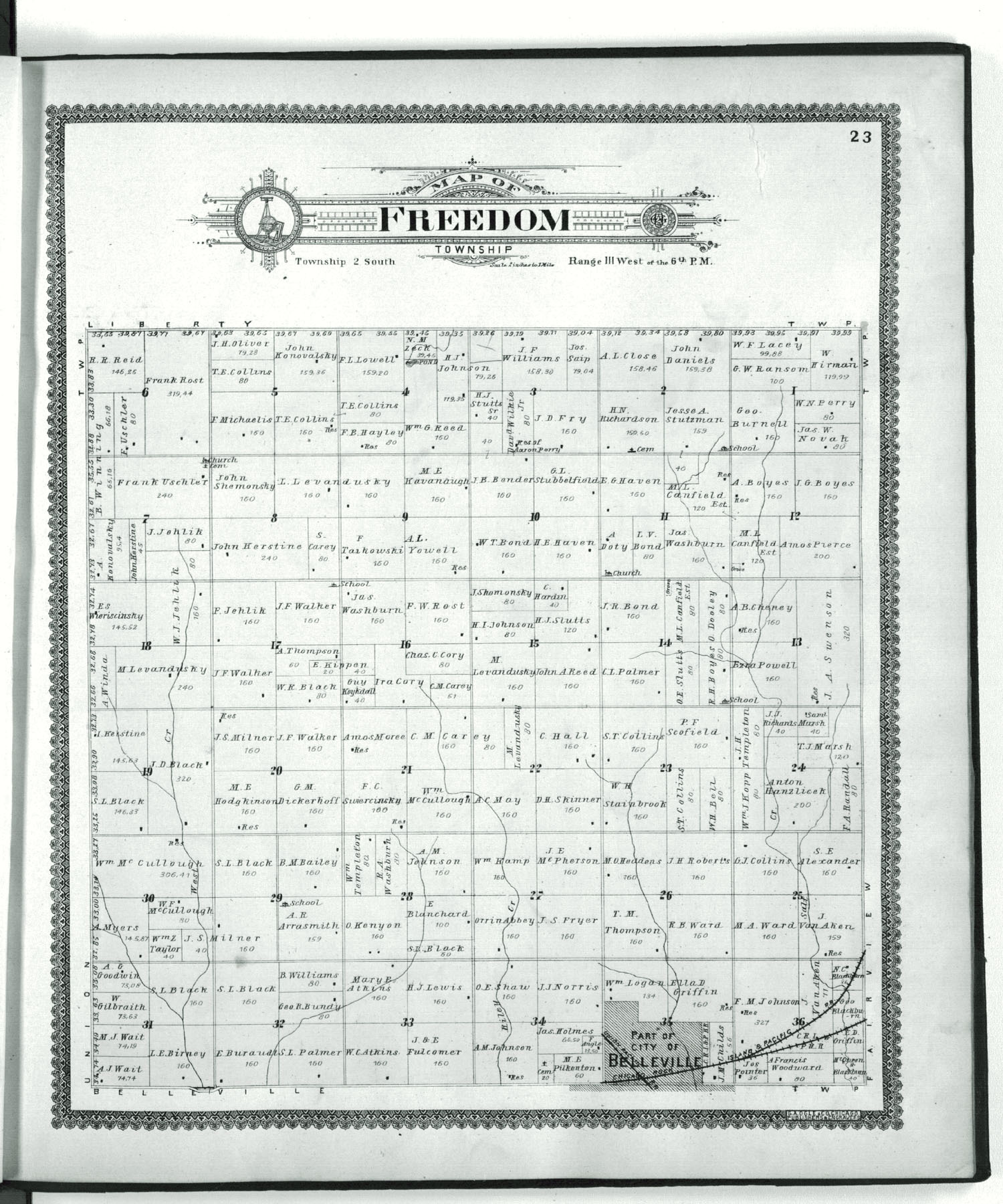 Standard atlas of Republic County, Kansas - 23