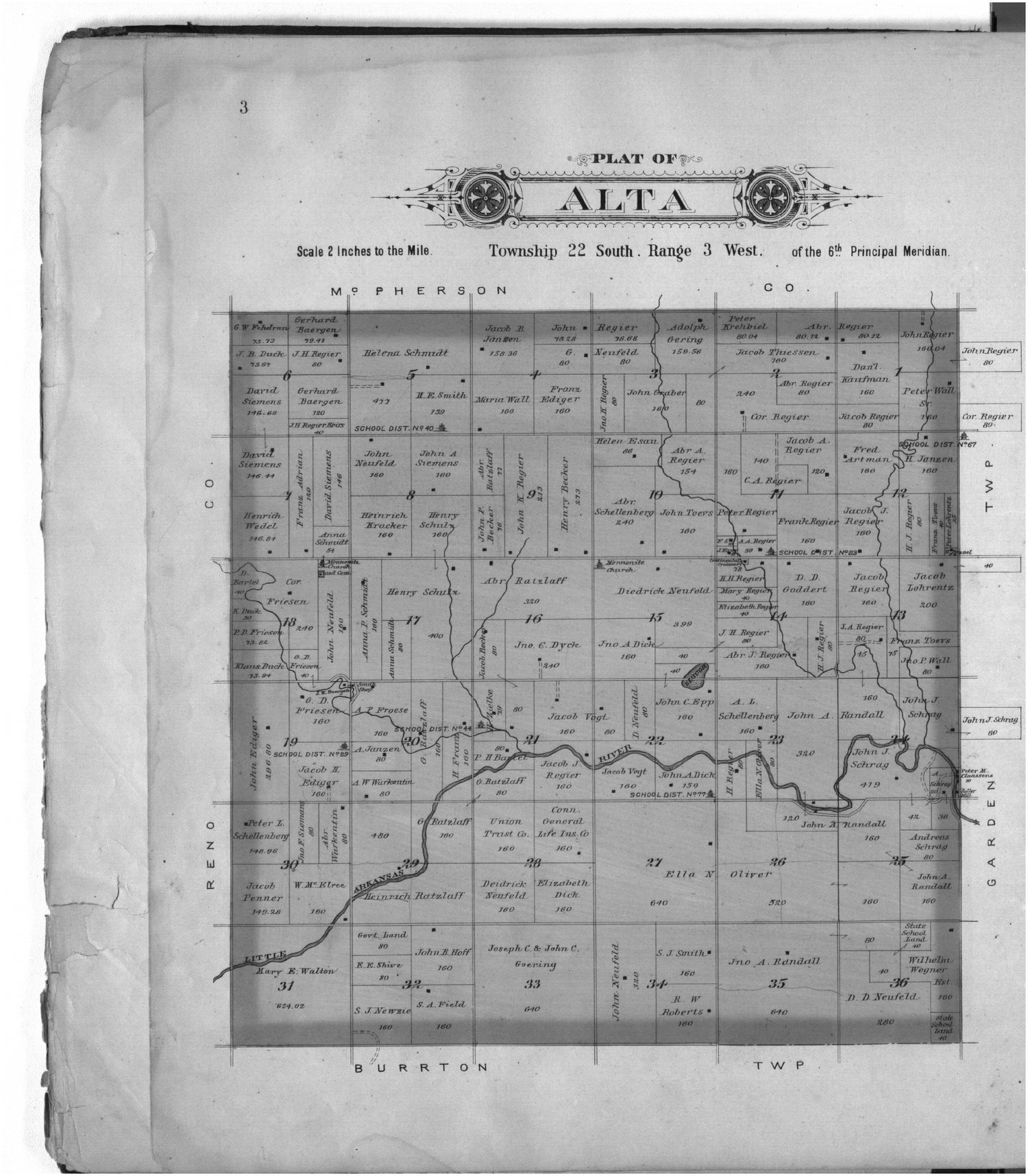 Plat book of Harvey County, Kansas - 3