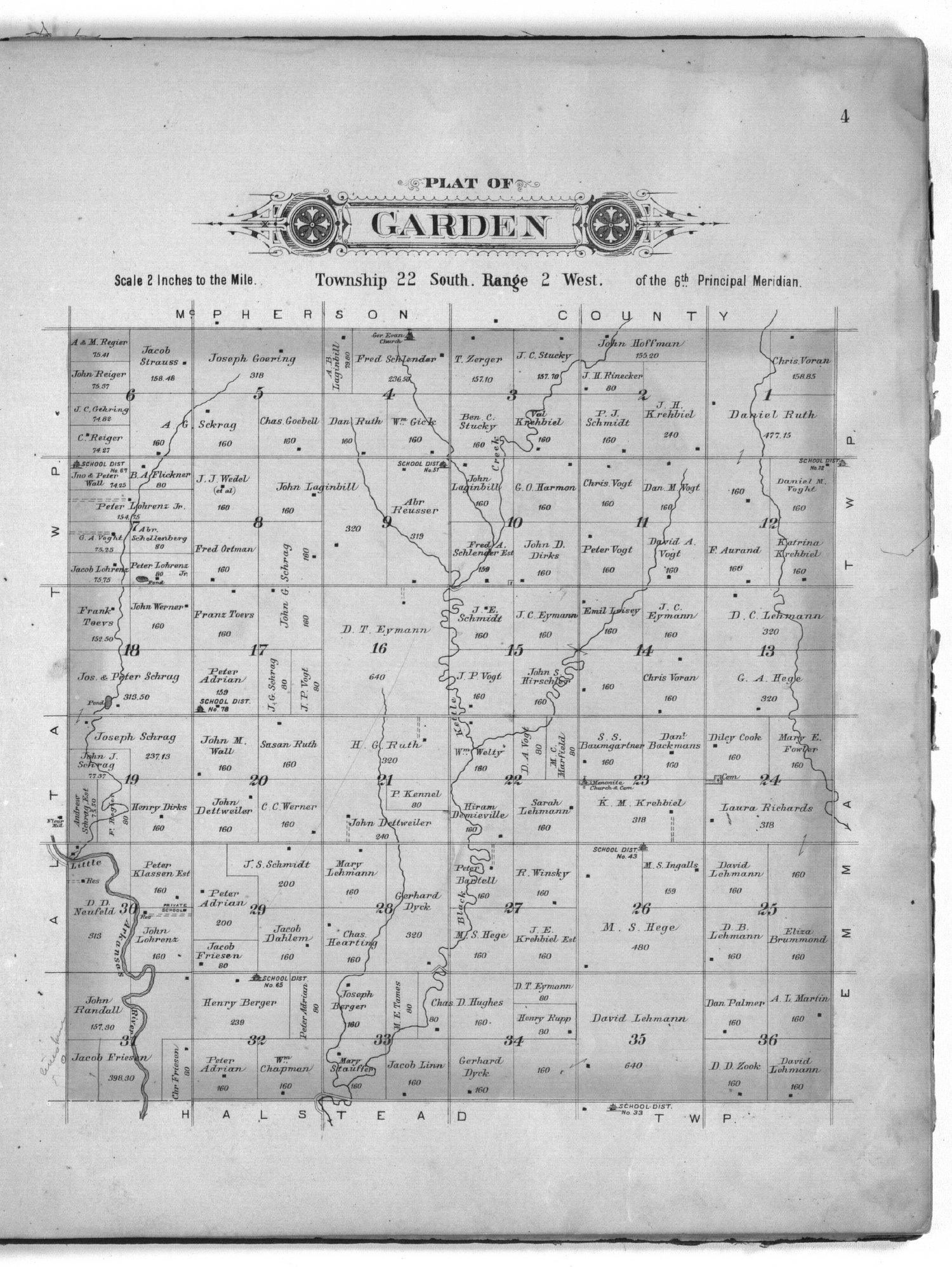 Plat book of Harvey County, Kansas - 4
