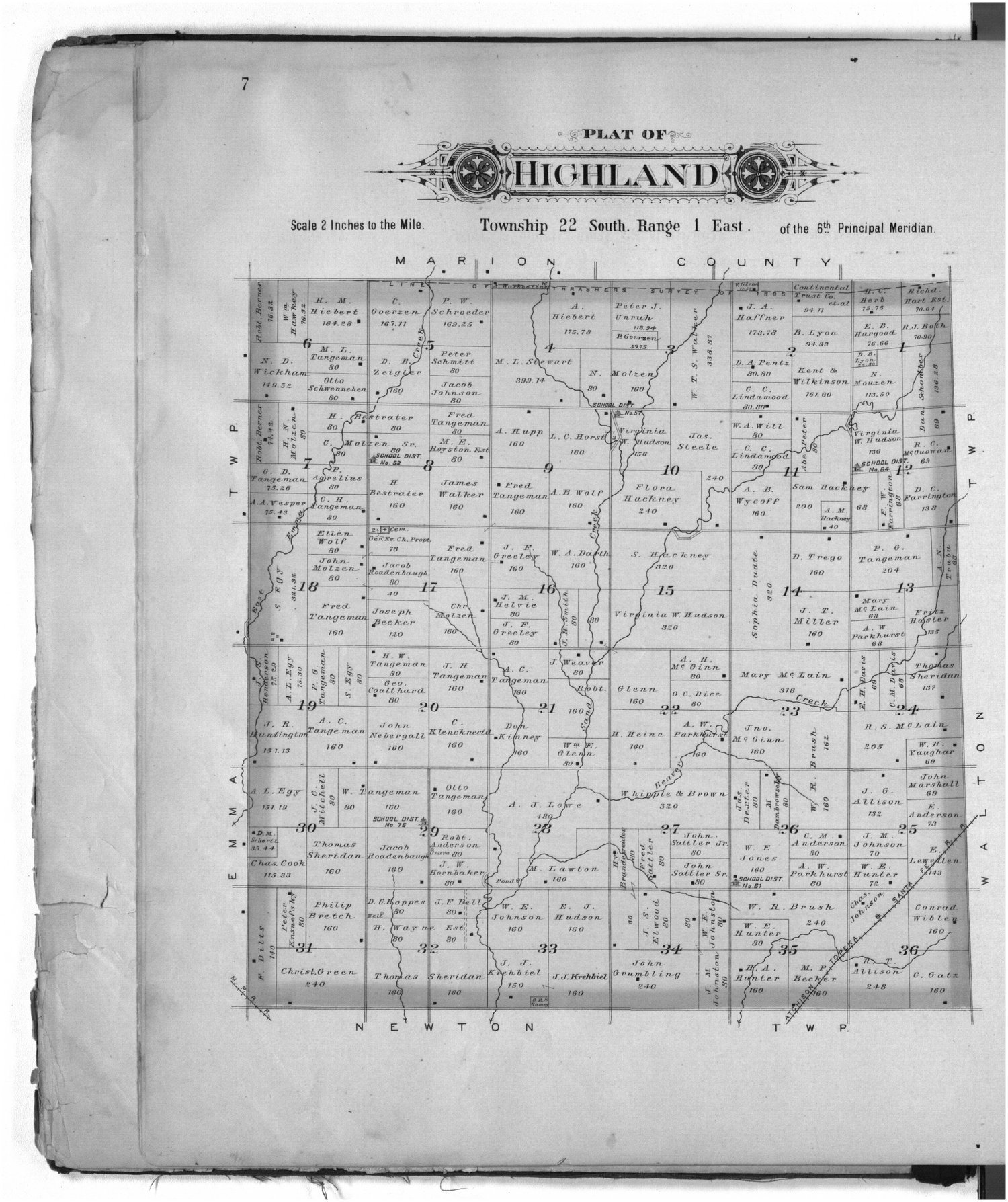 Plat book of Harvey County, Kansas - 7