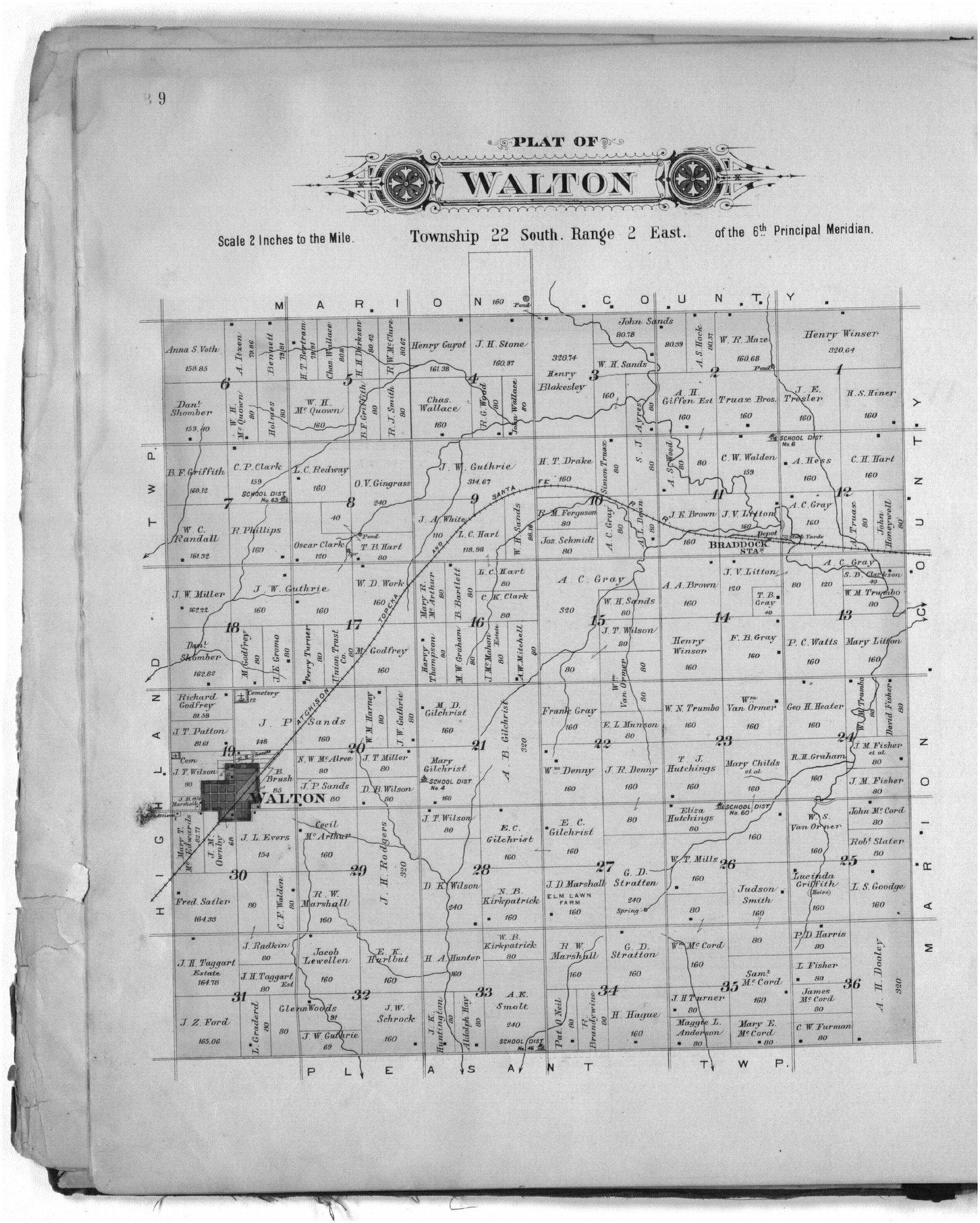 Plat book of Harvey County, Kansas - 9