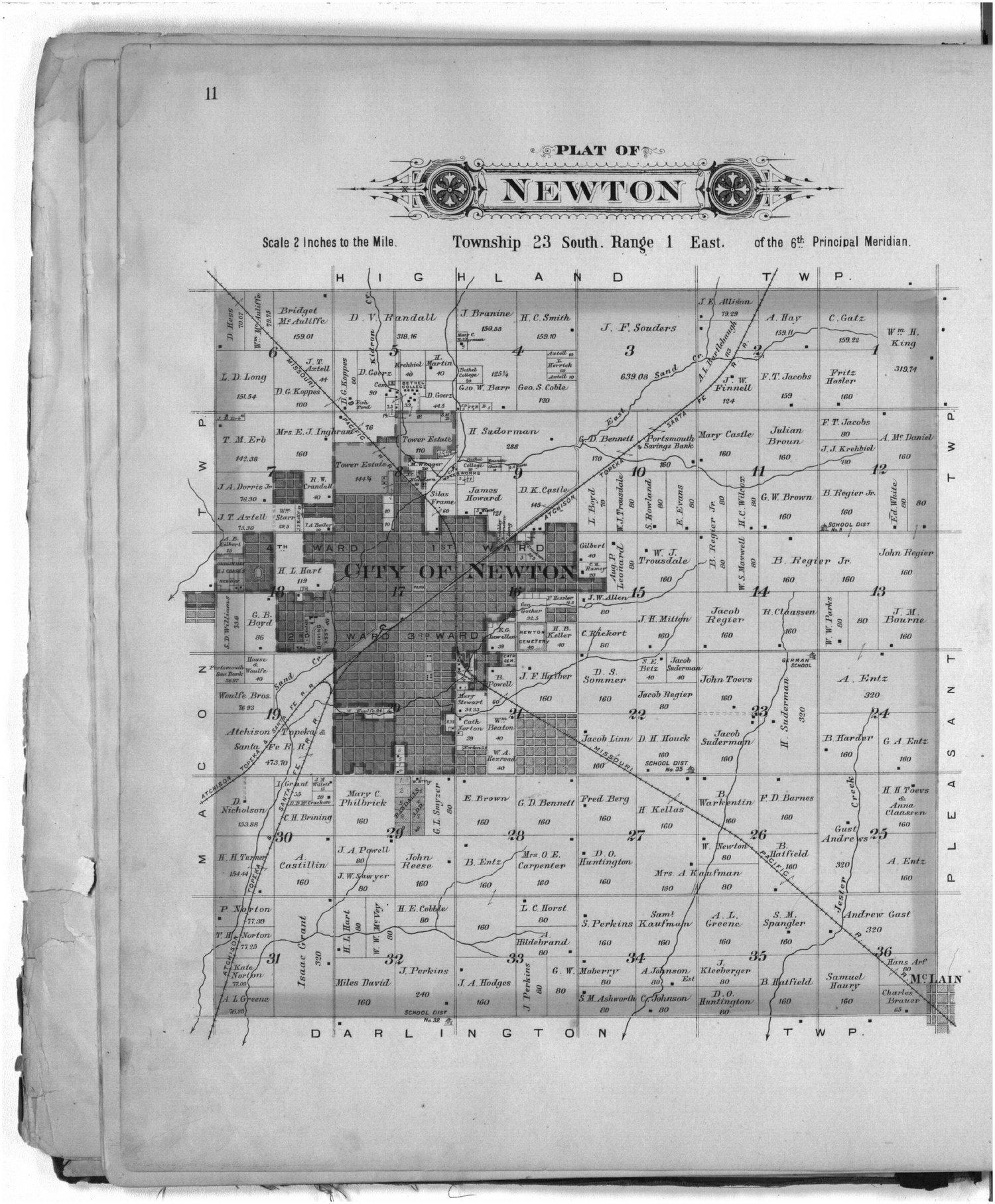Plat book of Harvey County, Kansas - 11