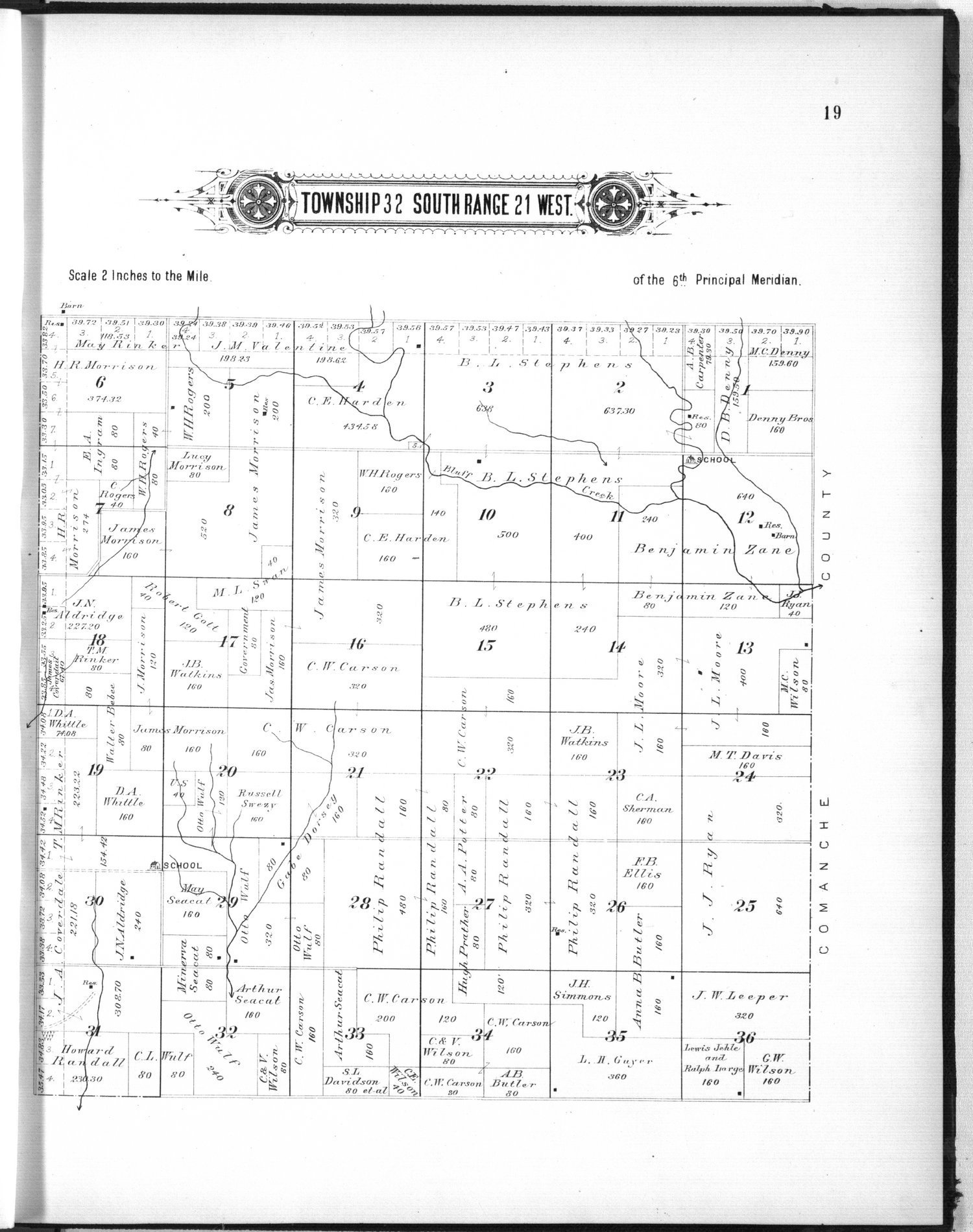 Plat book of Clark County, Kansas - 19