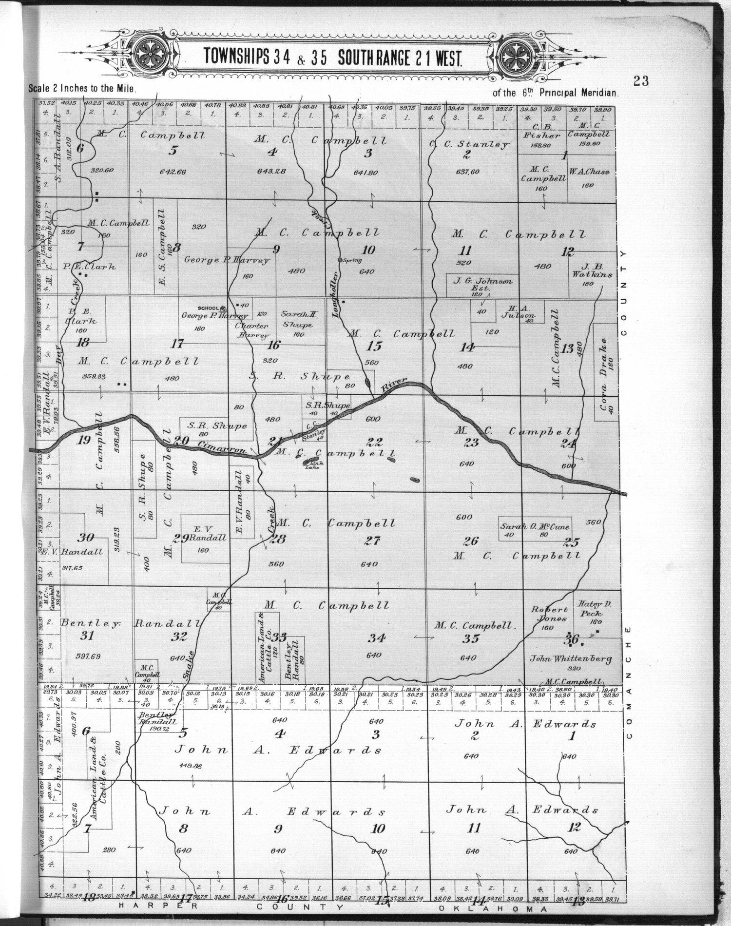 Plat book of Clark County, Kansas - 23