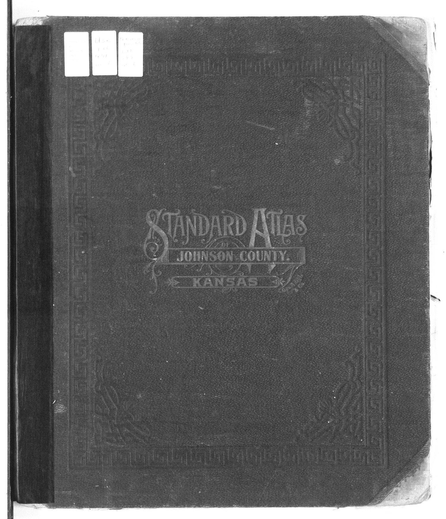 Standard atlas of Johnson County, Kansas - Front Cover