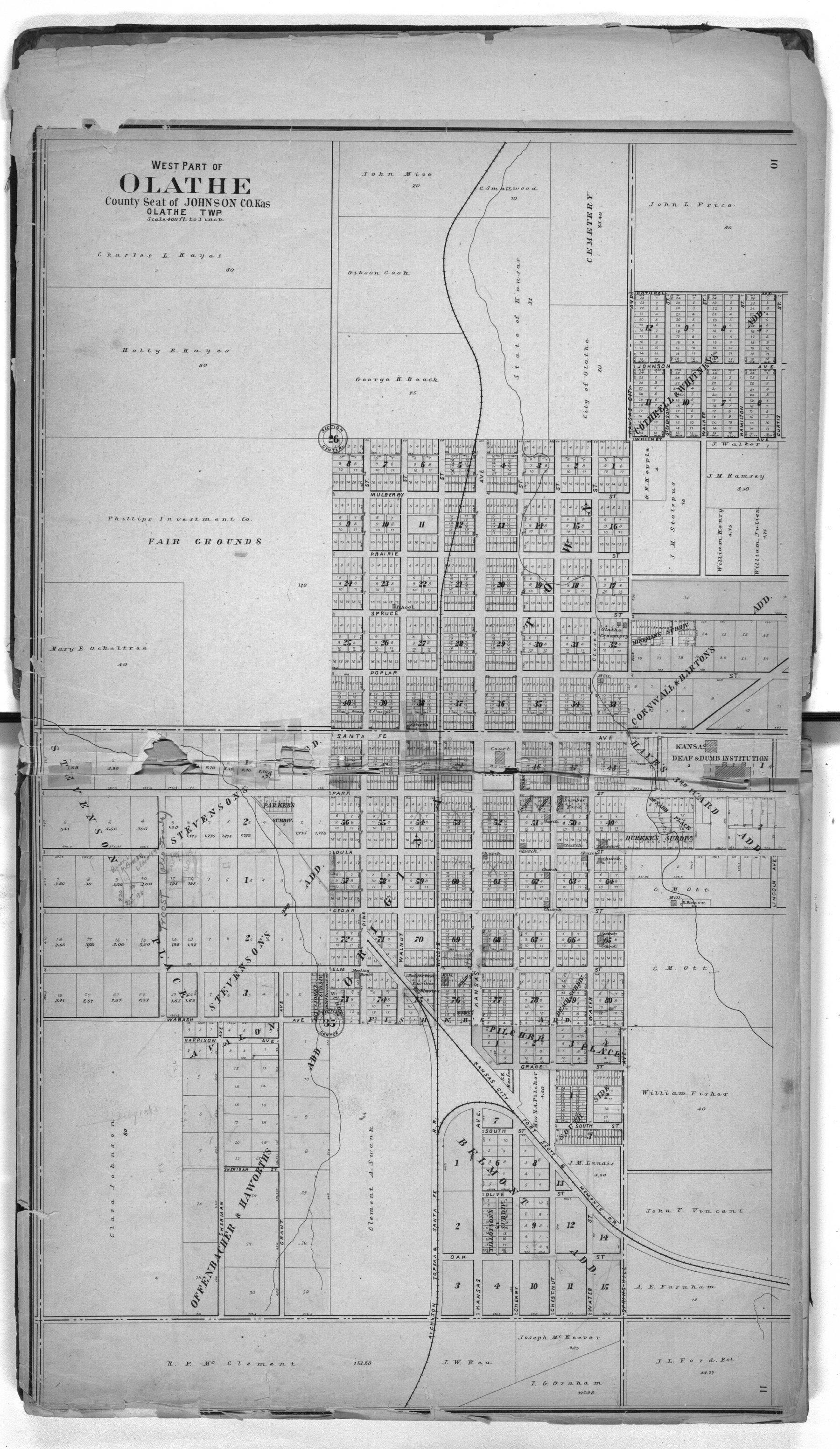 Standard atlas of Johnson County, Kansas - 10 & 11
