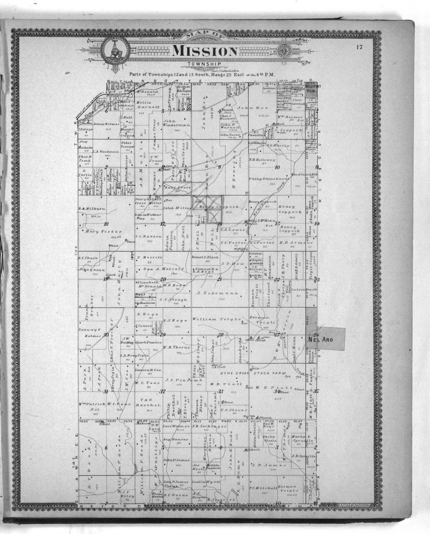 Standard atlas of Johnson County, Kansas - 17