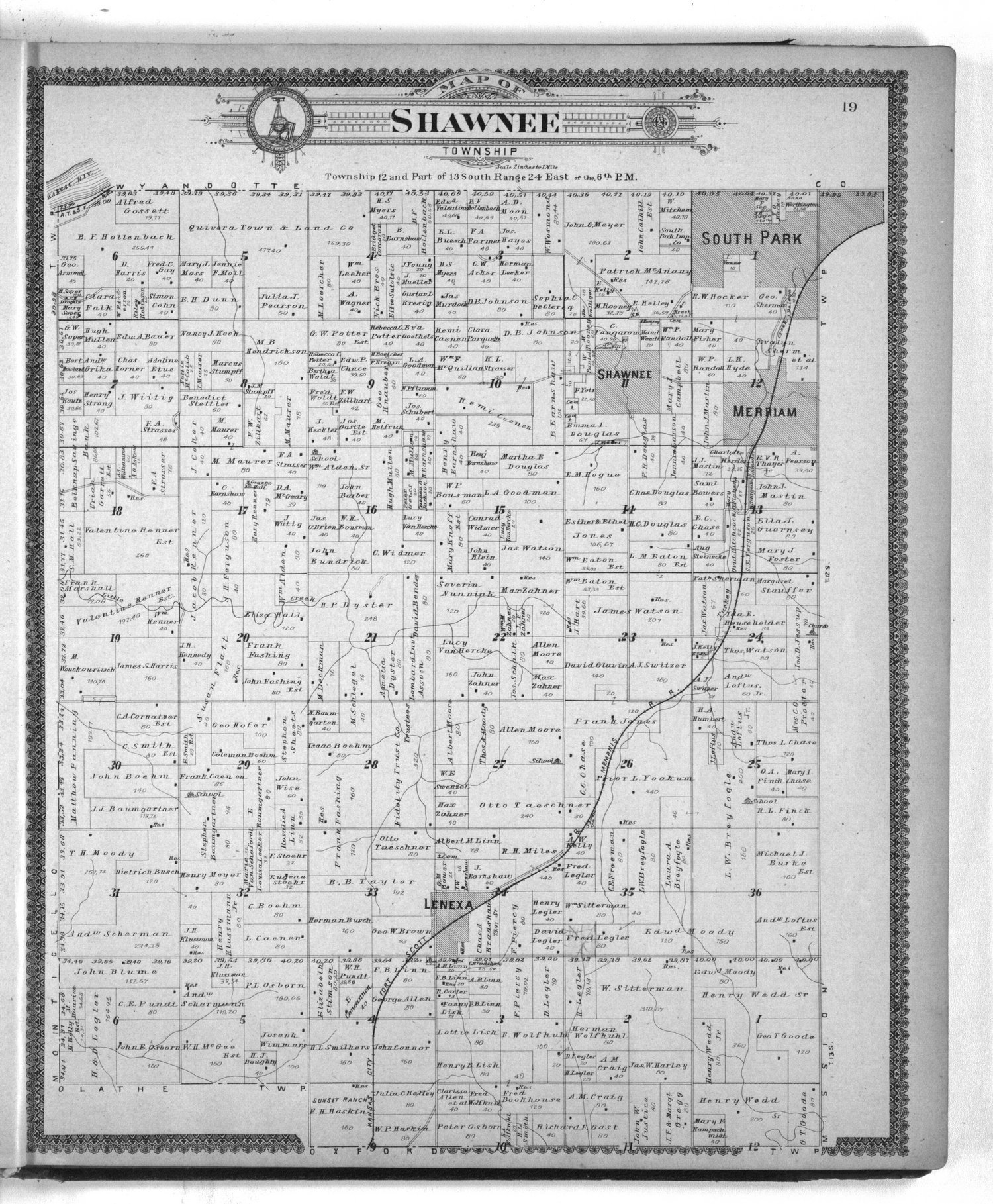 Standard atlas of Johnson County, Kansas - 19