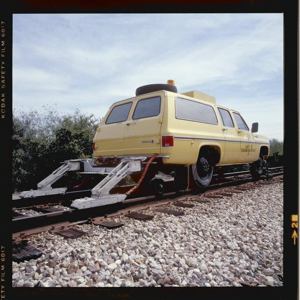 Atchison, Topeka & Santa Fe Hi-rail Car