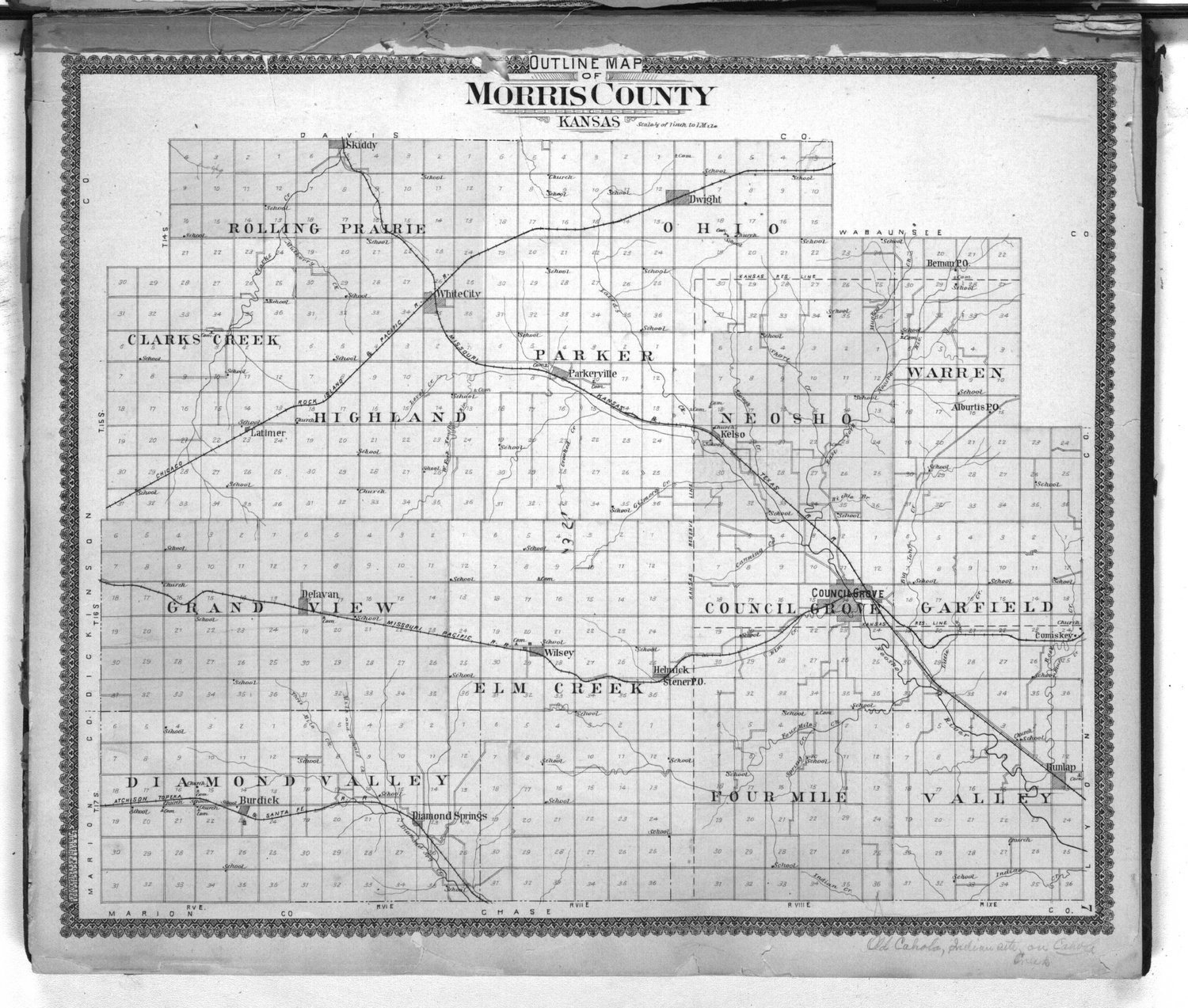 Standard atlas of Morris County, Kansas - 7