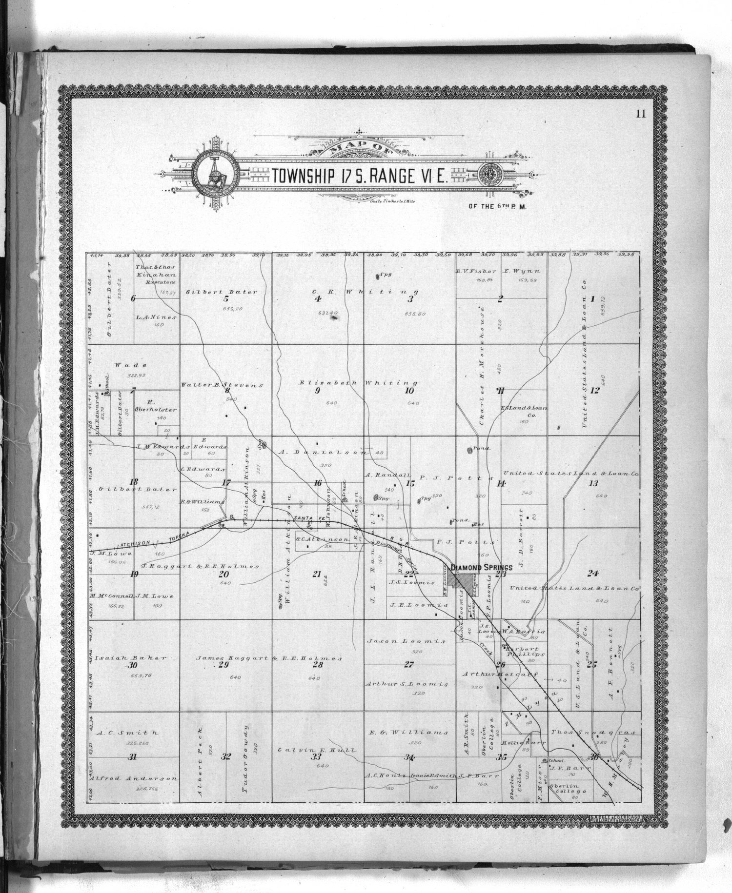 Standard atlas of Morris County, Kansas - 11