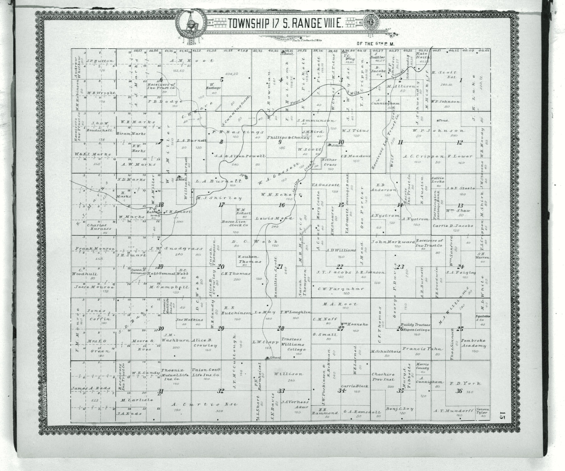 Standard atlas of Morris County, Kansas - 15