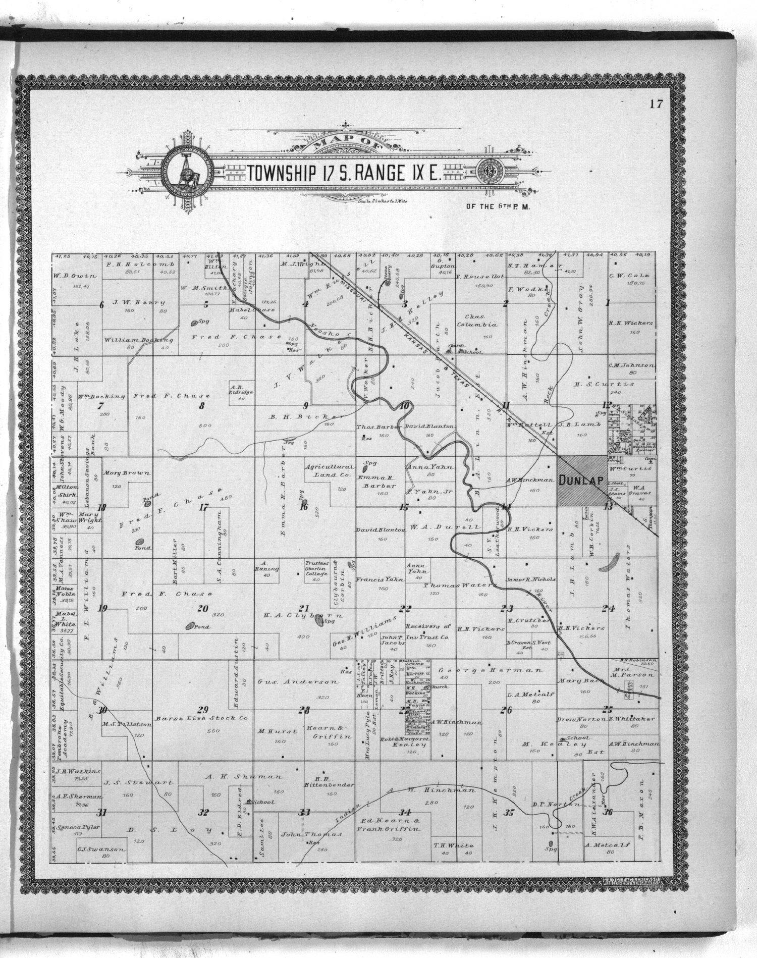 Standard atlas of Morris County, Kansas - 17