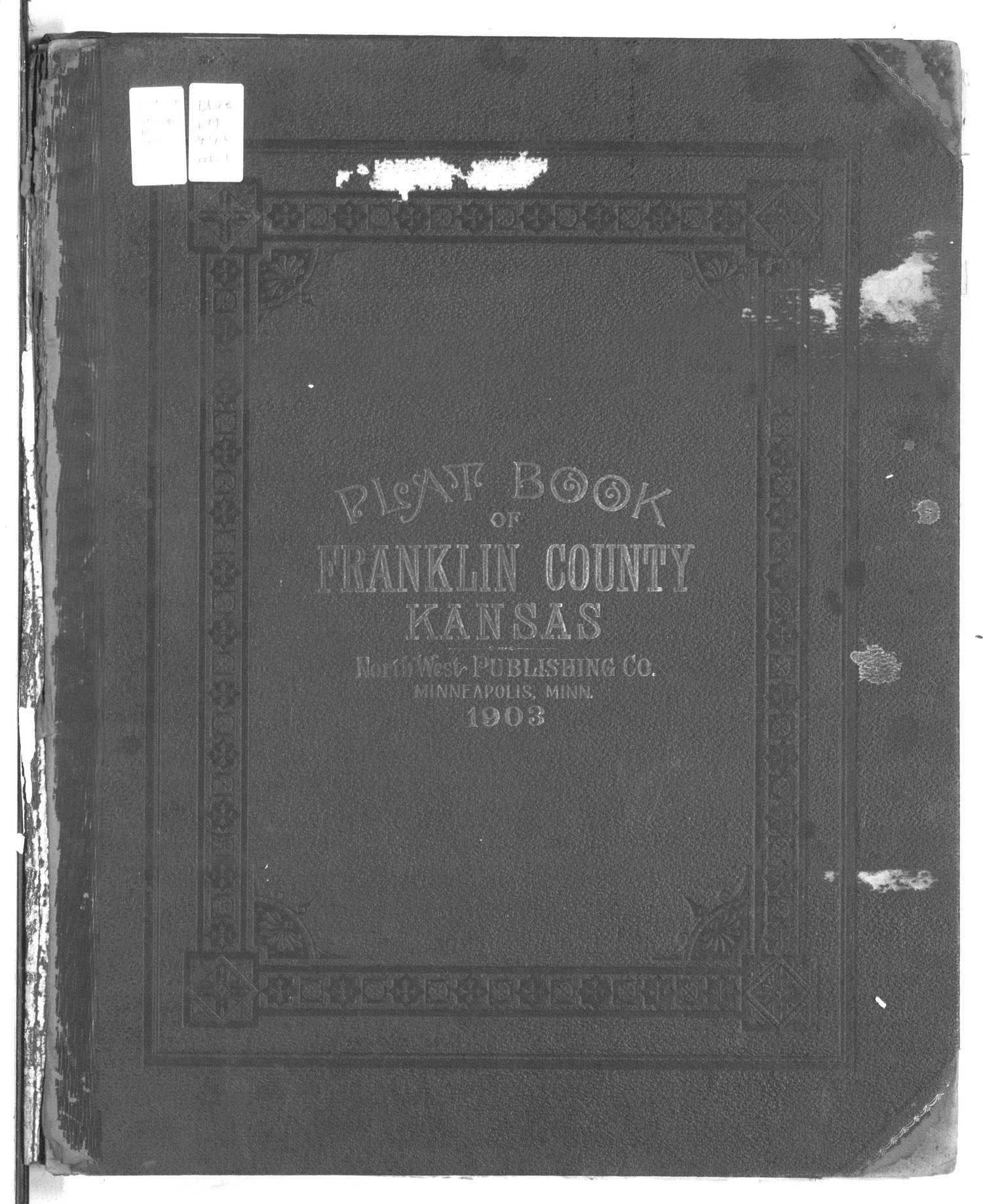 Plat book of Franklin County, Kansas - Front Cover