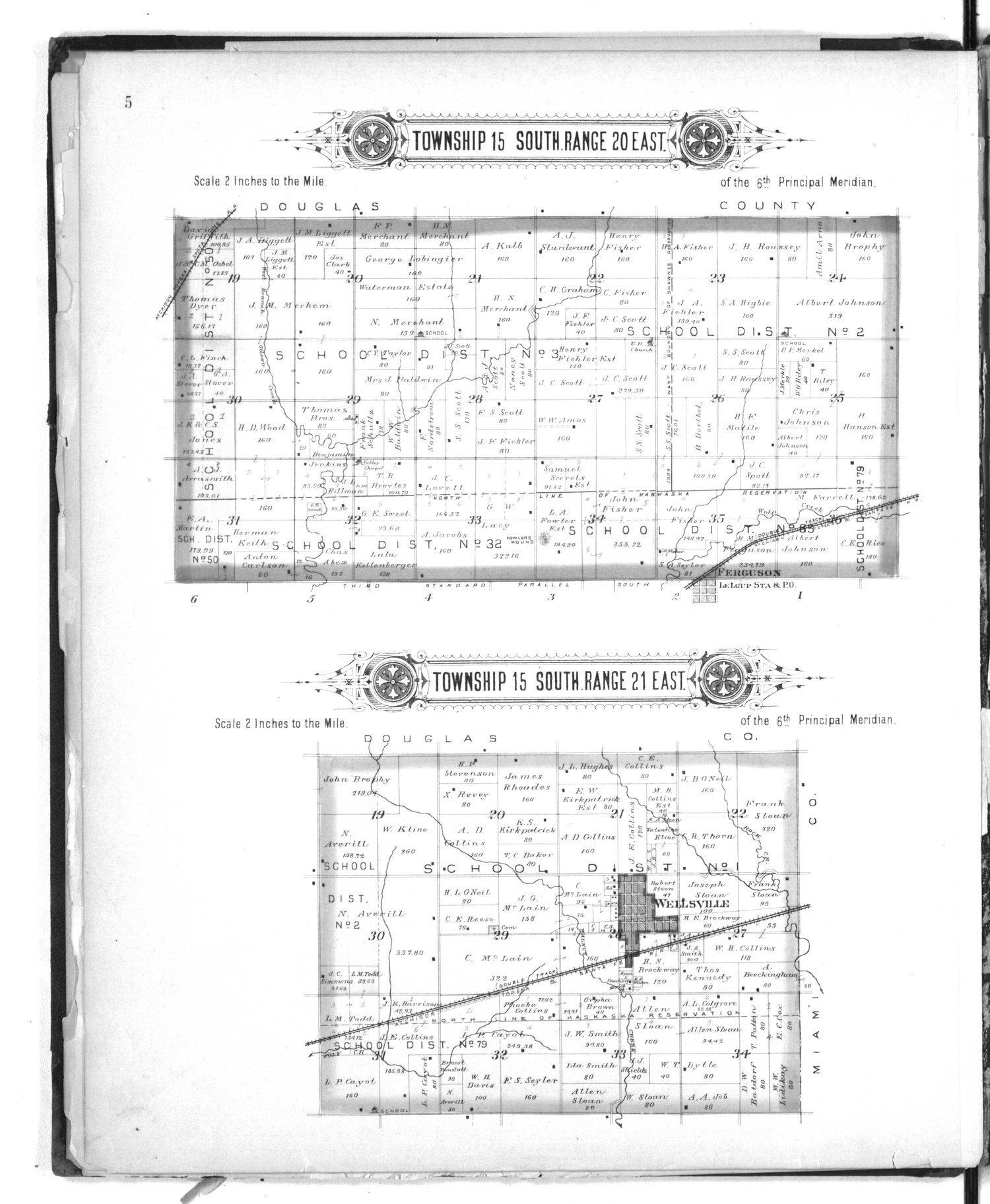 Plat book of Franklin County, Kansas - 5