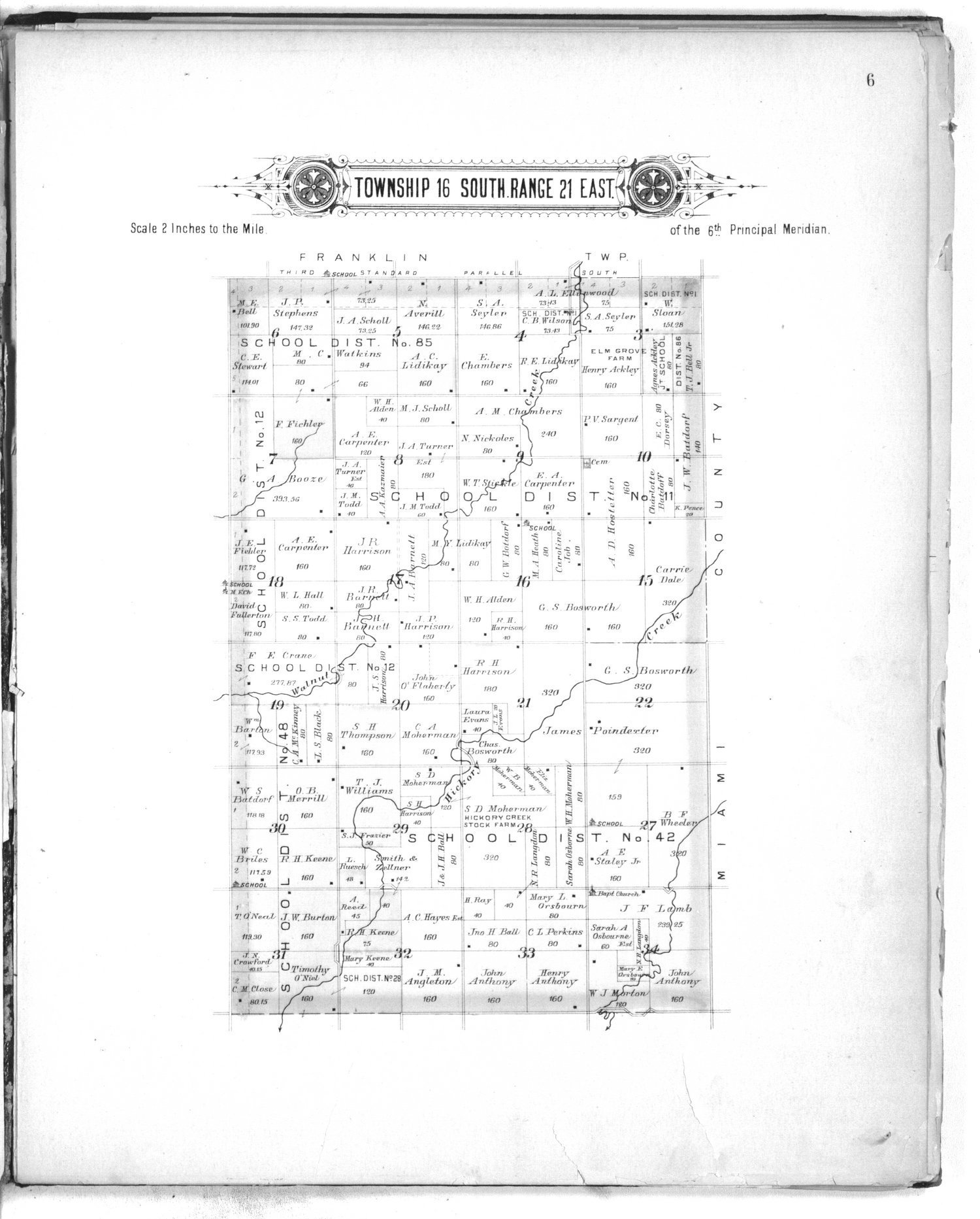 Plat book of Franklin County, Kansas - 6