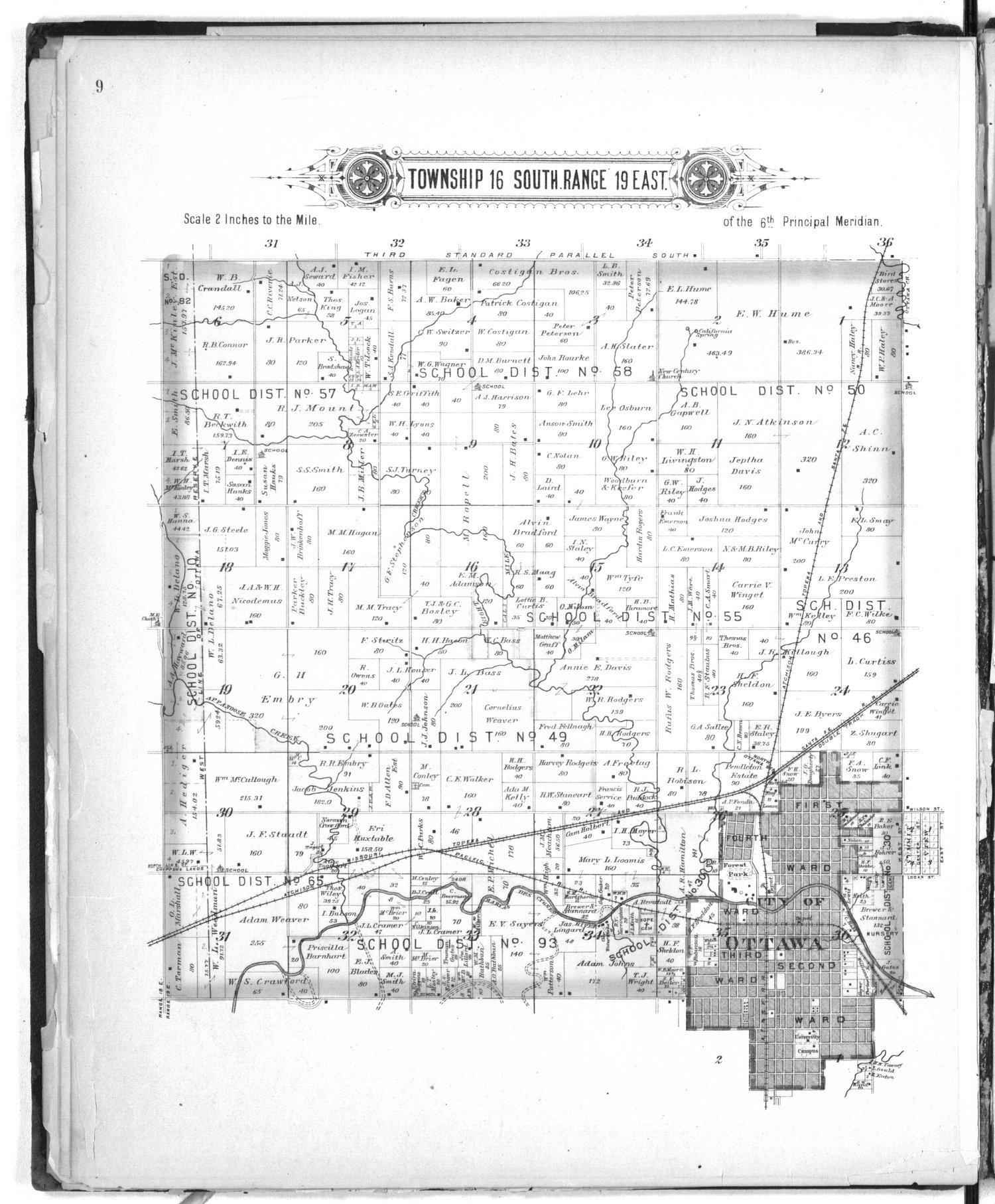 Plat book of Franklin County, Kansas - 9