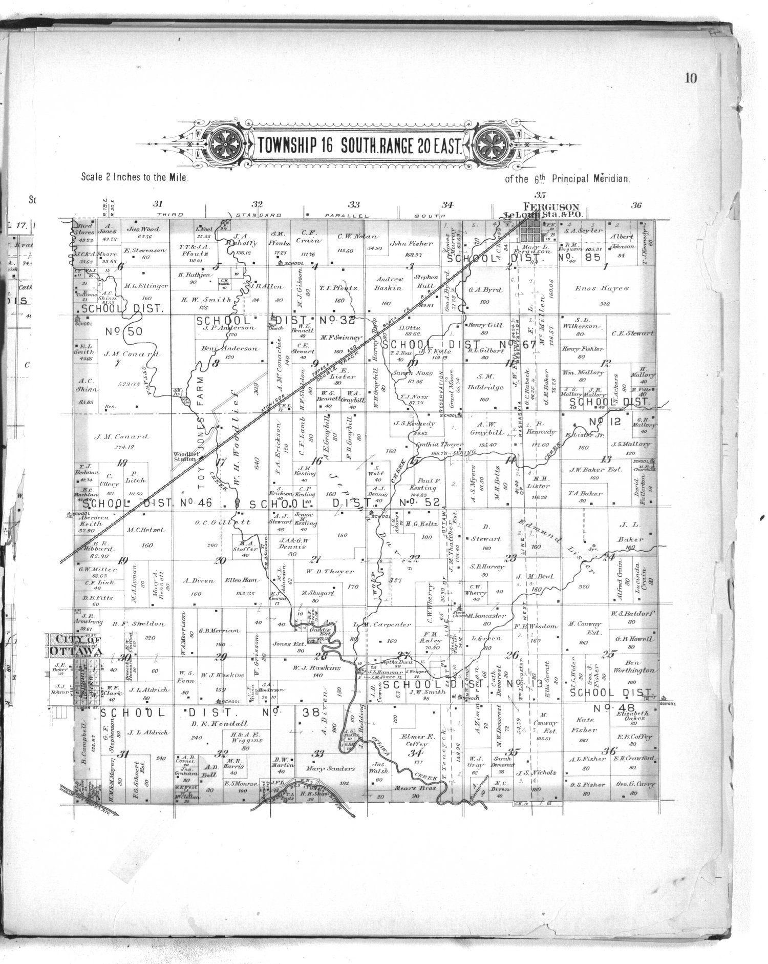 Plat book of Franklin County, Kansas - 10