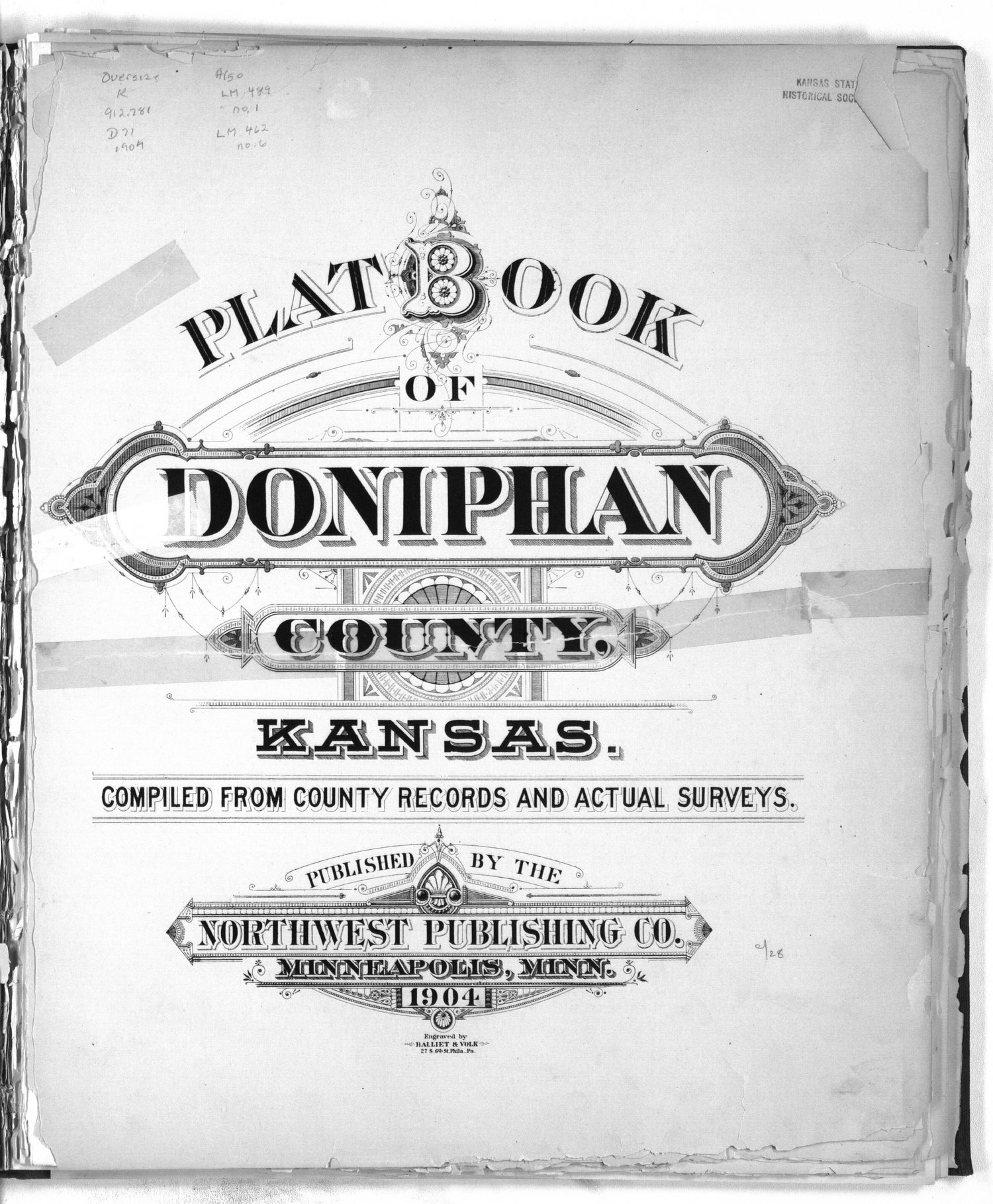 Plat book of Doniphan County, Kansas - Title Page
