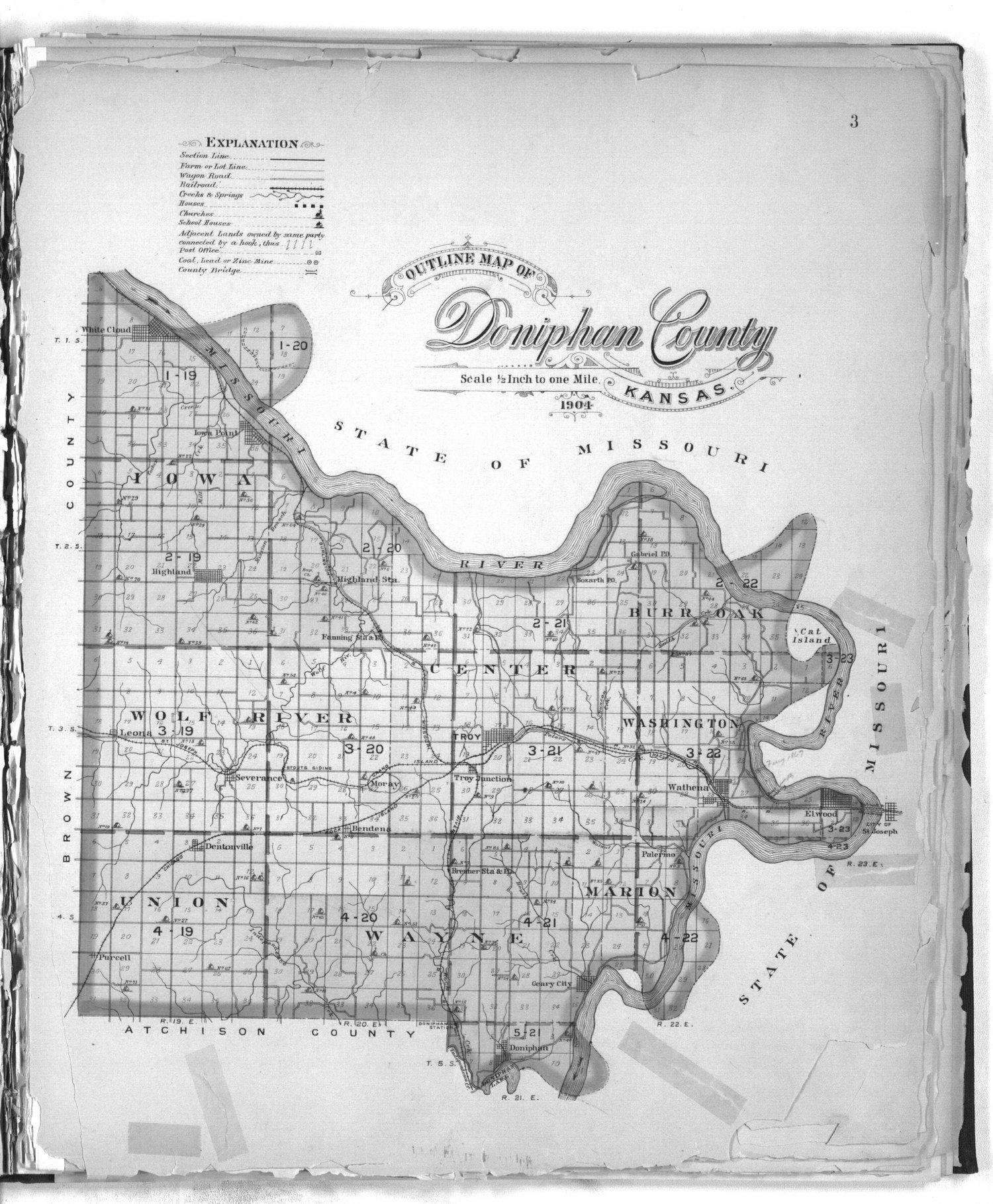 Plat book of Doniphan County, Kansas - 3