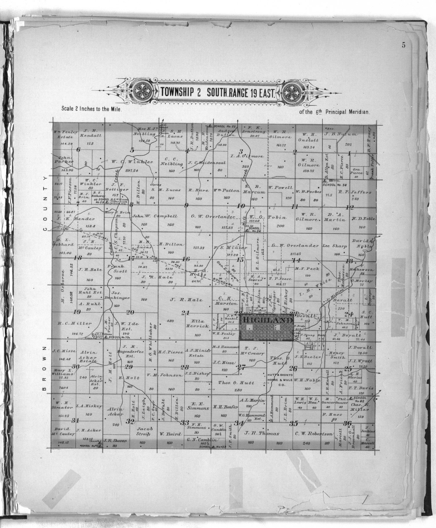 Plat book of Doniphan County, Kansas - 5