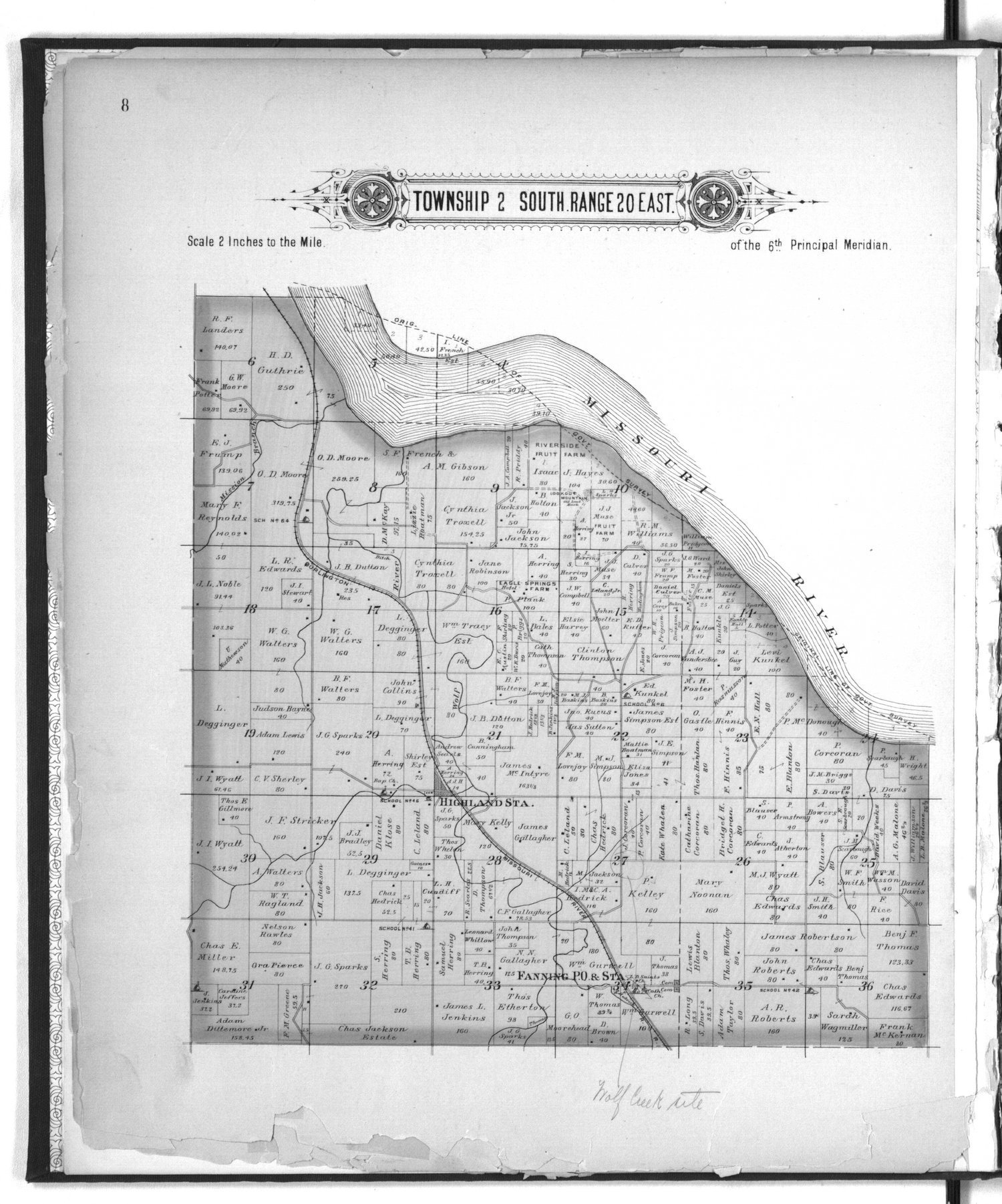 Plat book of Doniphan County, Kansas - 8