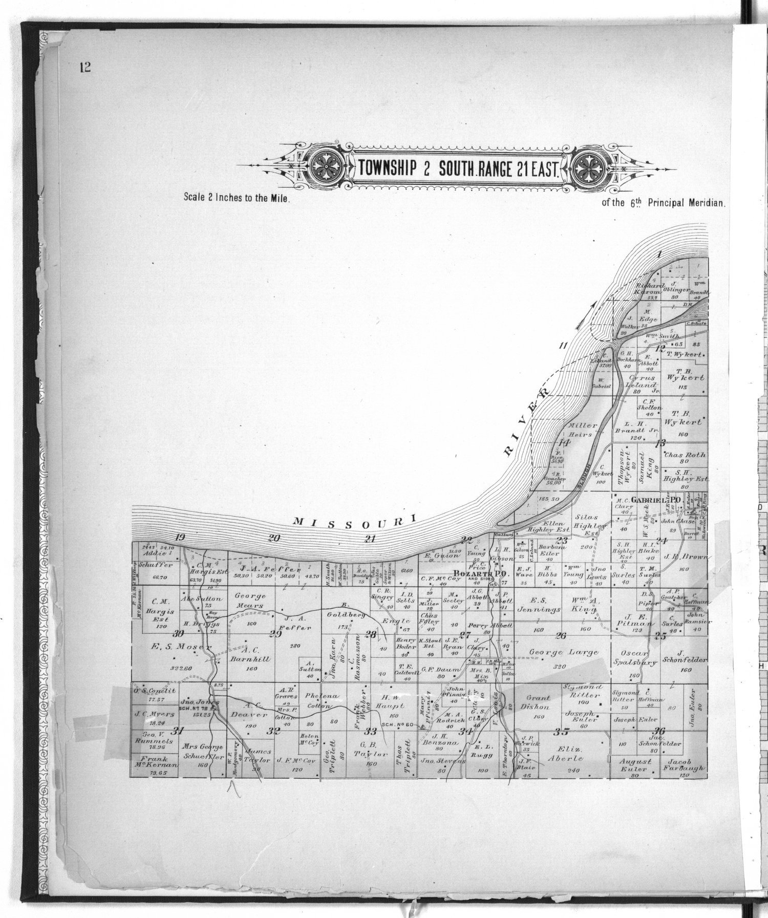 Plat book of Doniphan County, Kansas - 12