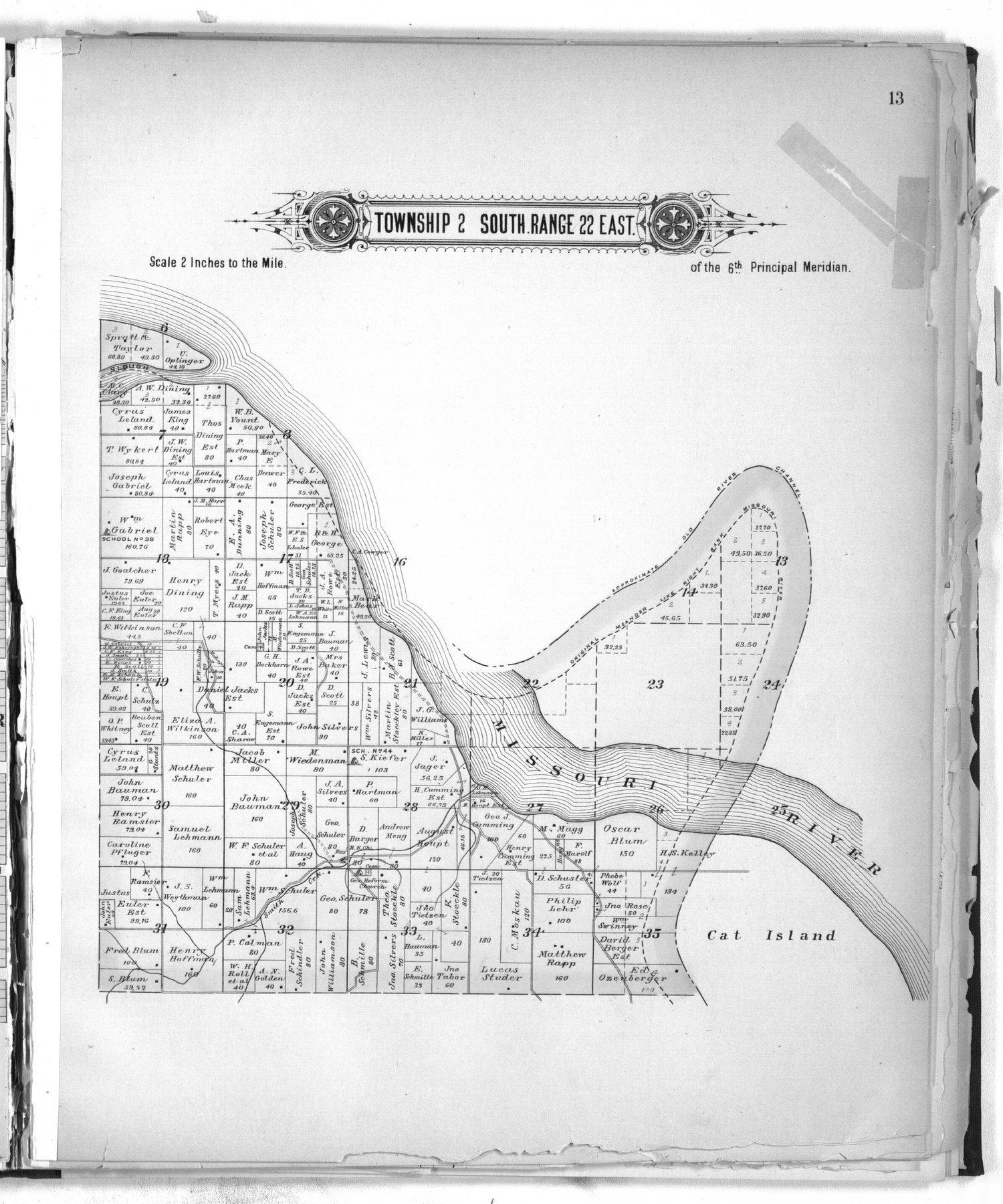 Plat book of Doniphan County, Kansas - 13