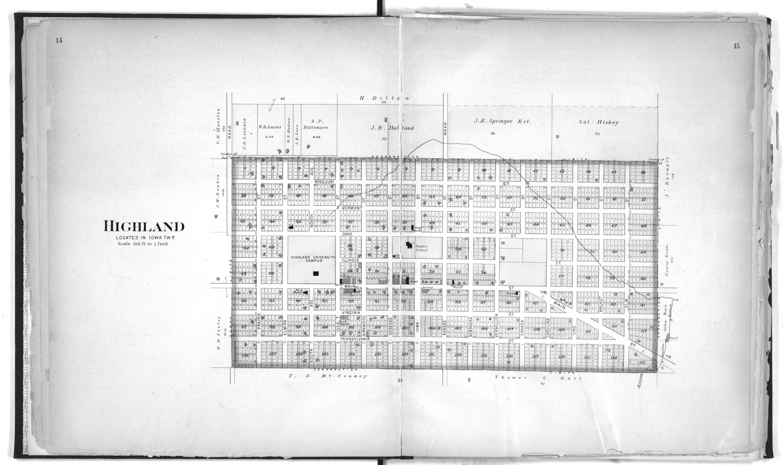 Plat book of Doniphan County, Kansas - 14 & 15