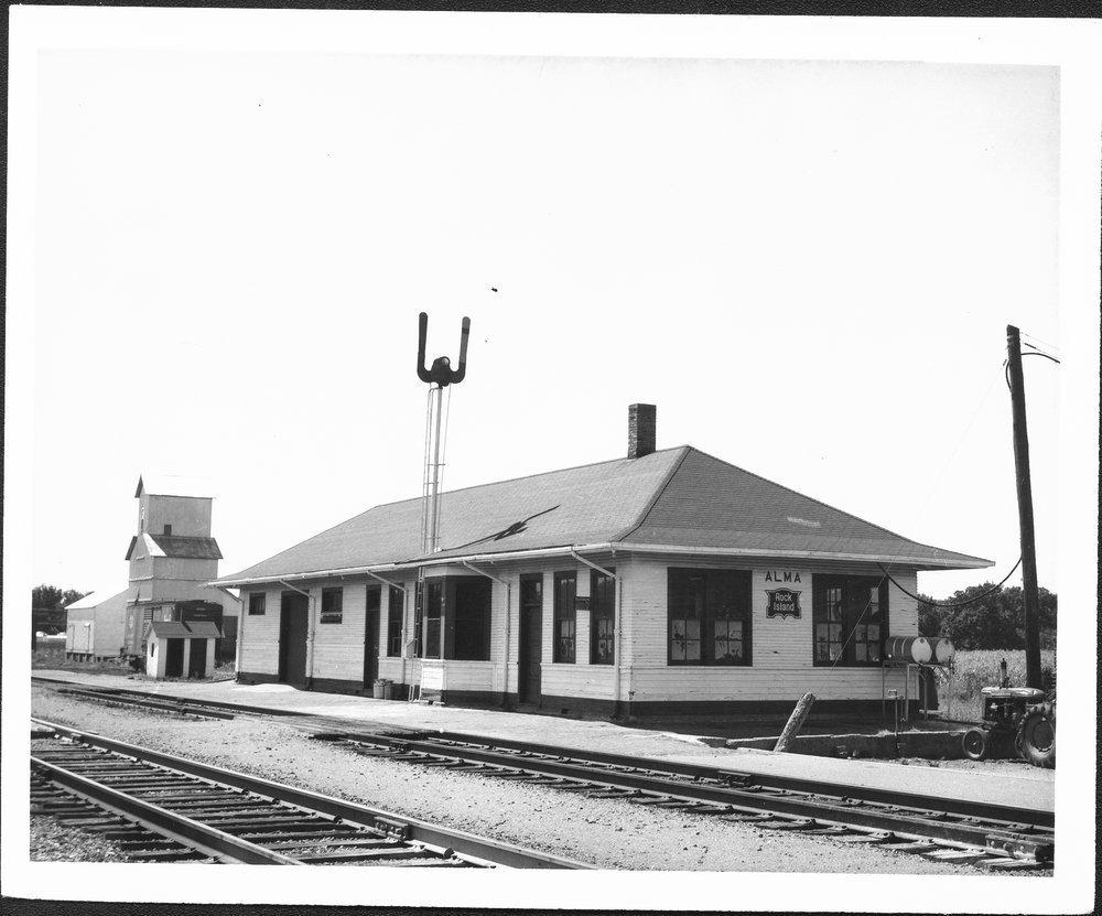 Chicago, Rock Island & Pacific Railroad depot, Alma, Kansas