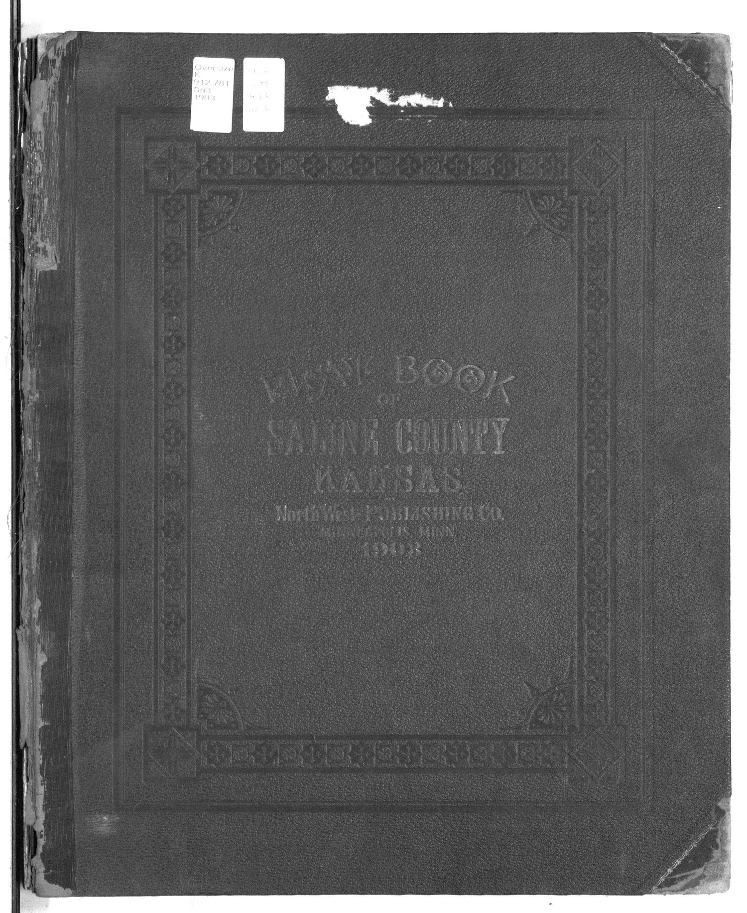 Plat book of Saline County, Kansas - Cover