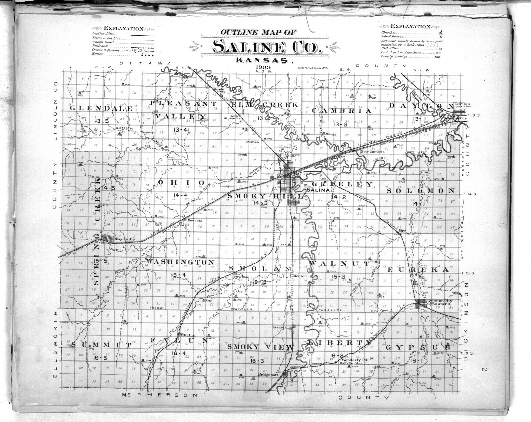 Plat book of Saline County, Kansas - 2
