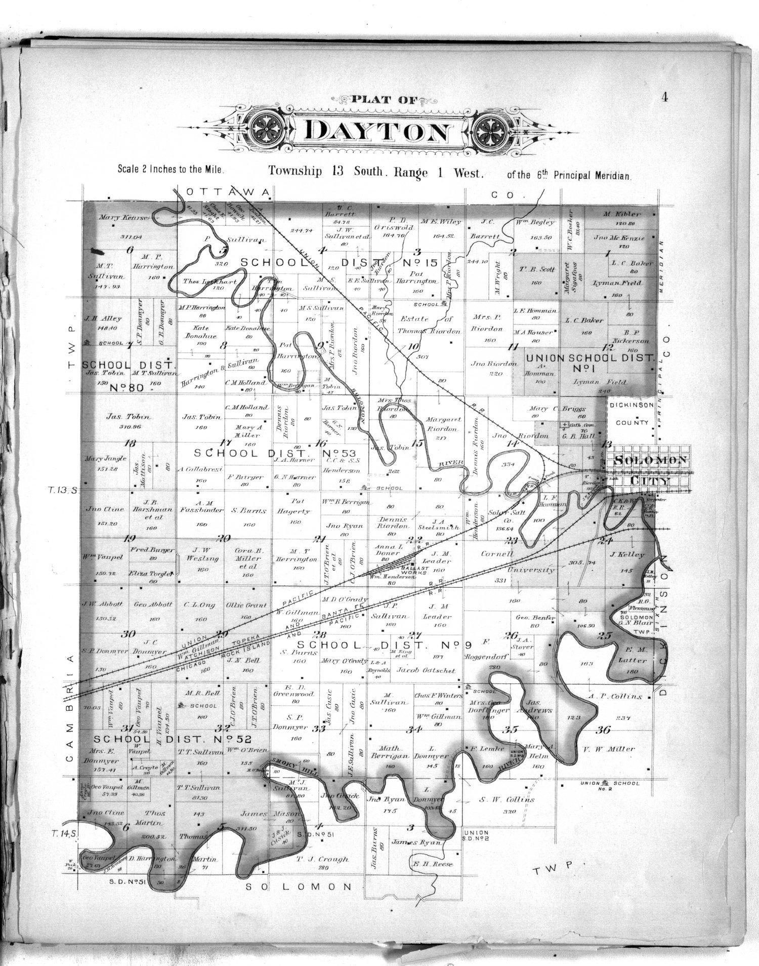 Plat book of Saline County, Kansas - 4