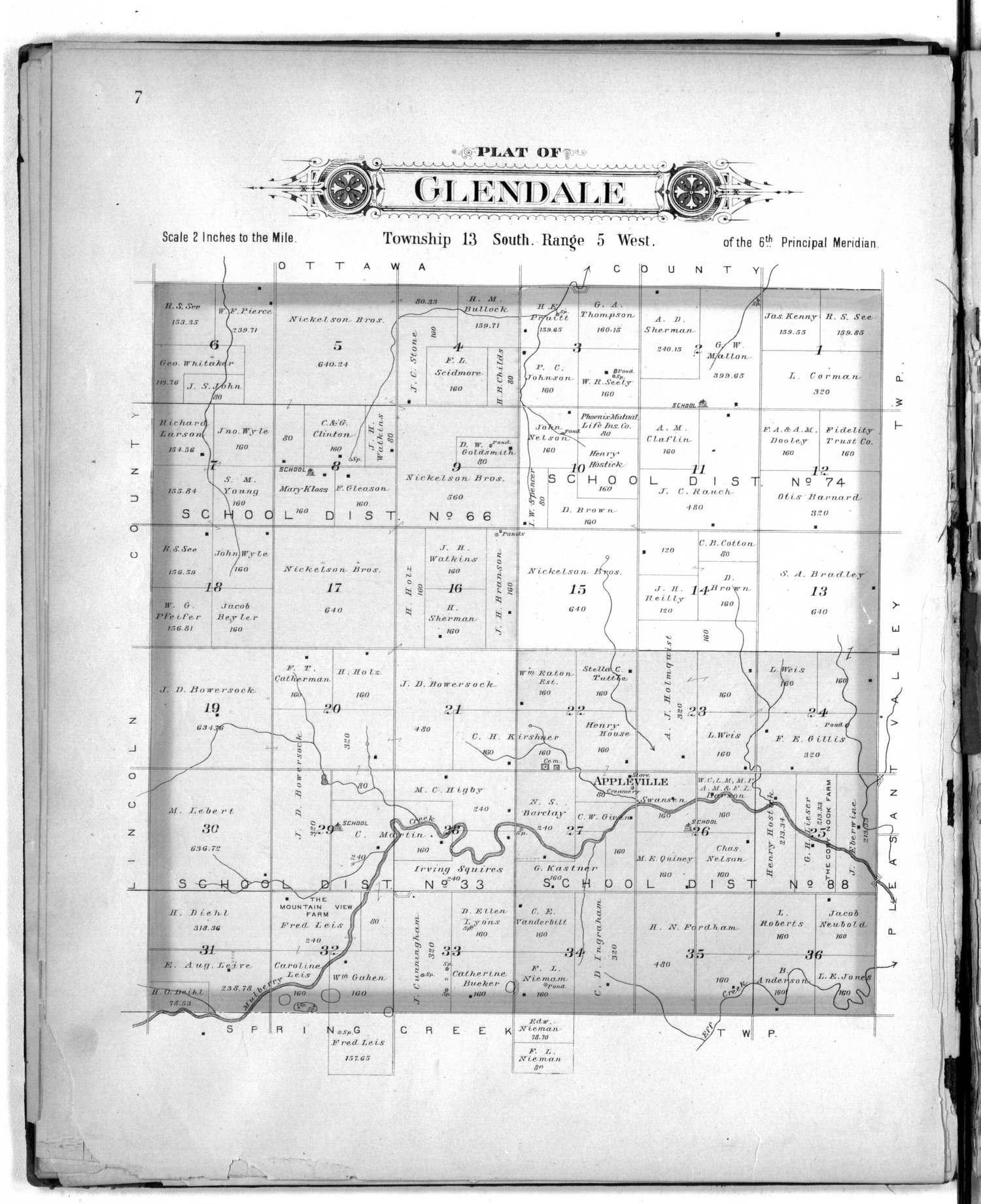 Plat book of Saline County, Kansas - 7
