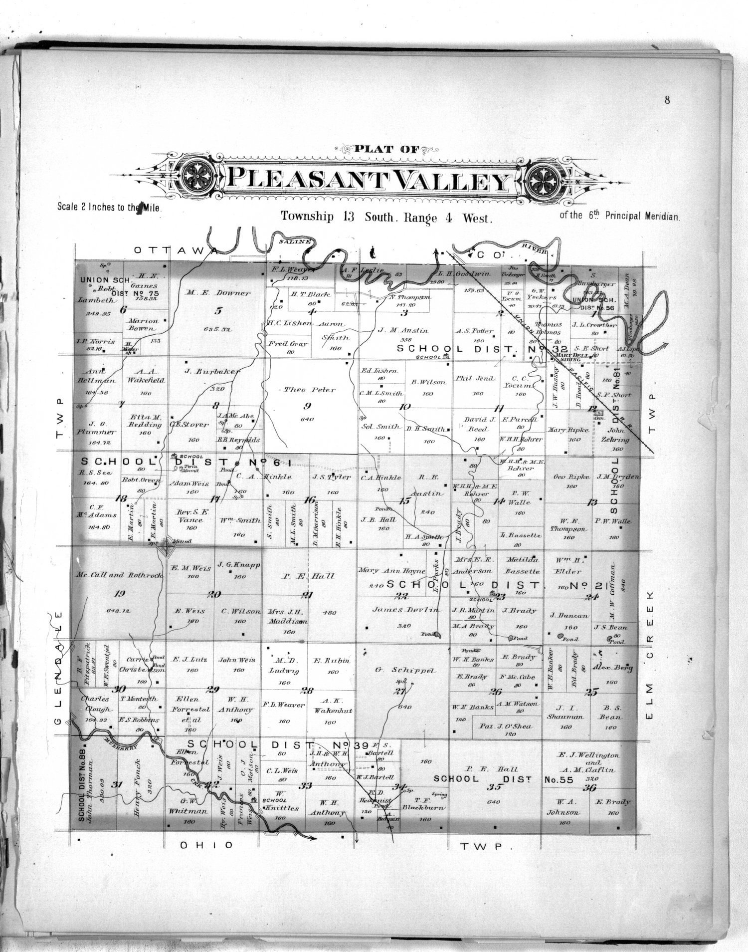 Plat book of Saline County, Kansas - 8