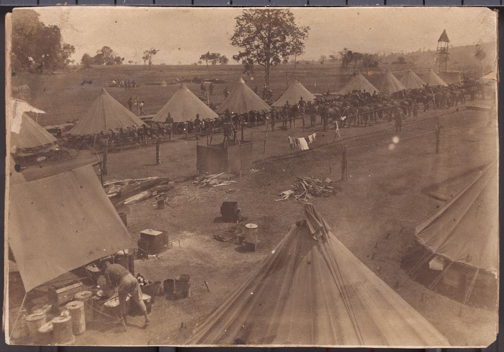 Views of a military camp at Mount Bagsak, Philippines - 2