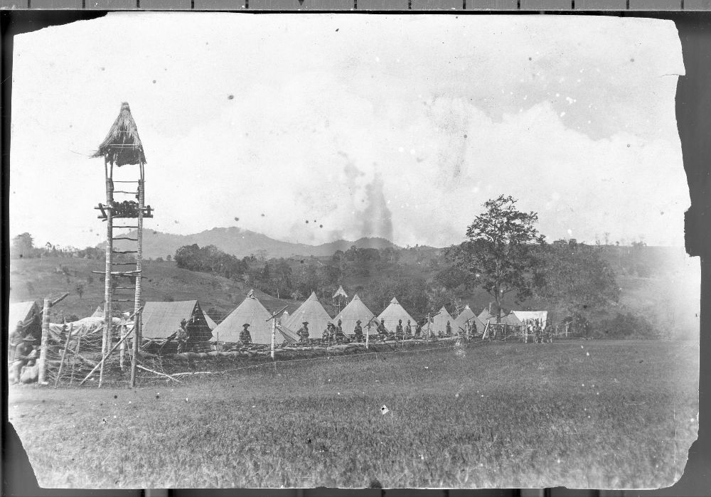 Views of a military camp at Mount Bagsak, Philippines - 3