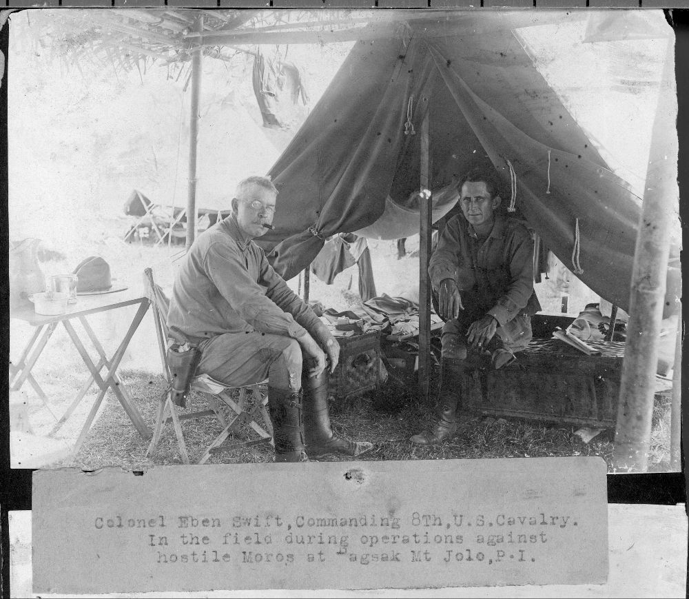 Views of a military camp at Mount Bagsak, Philippines - 4