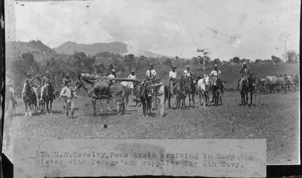 Views of a military camp at Mount Bagsak, Philippines - 5