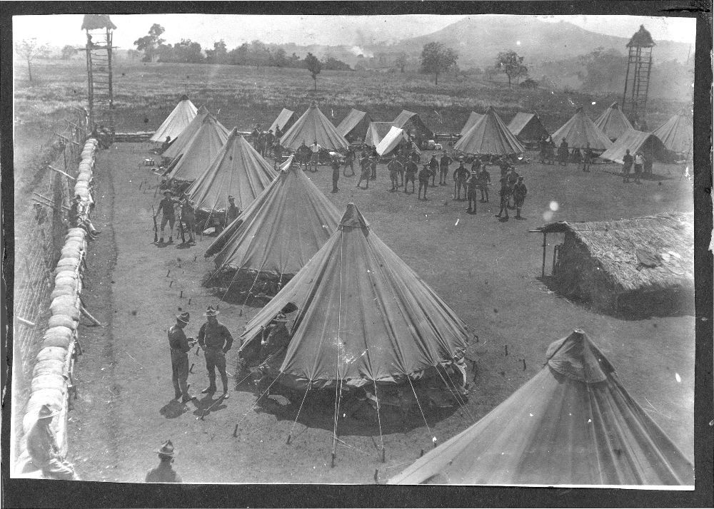 Views of a military camp at Mount Bagsak, Philippines - 6