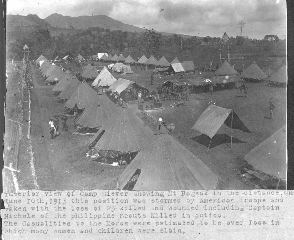 Views of a military camp at Mount Bagsak, Philippines - 7
