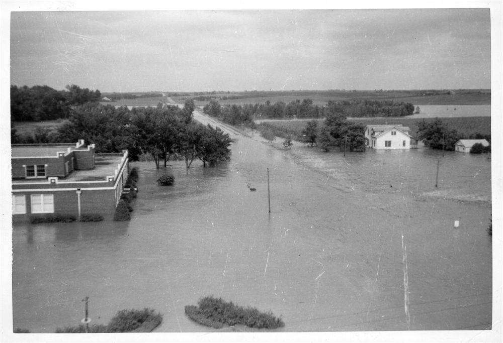 Flooding, Morrowville, Kansas