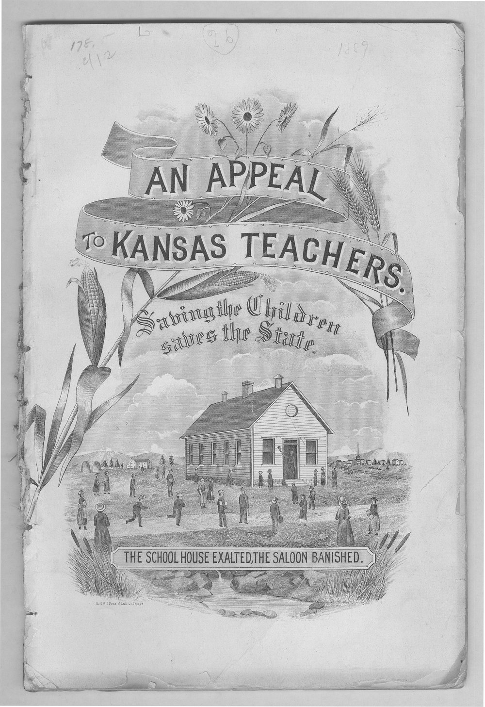 An appeal to Kansas teachers in behalf of temperance, health, and moral purity - Front Cover