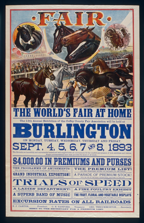 The World's Fair at home, Burlington, Kansas